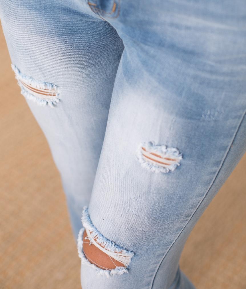 Pantalón Doberman - Denim Claro