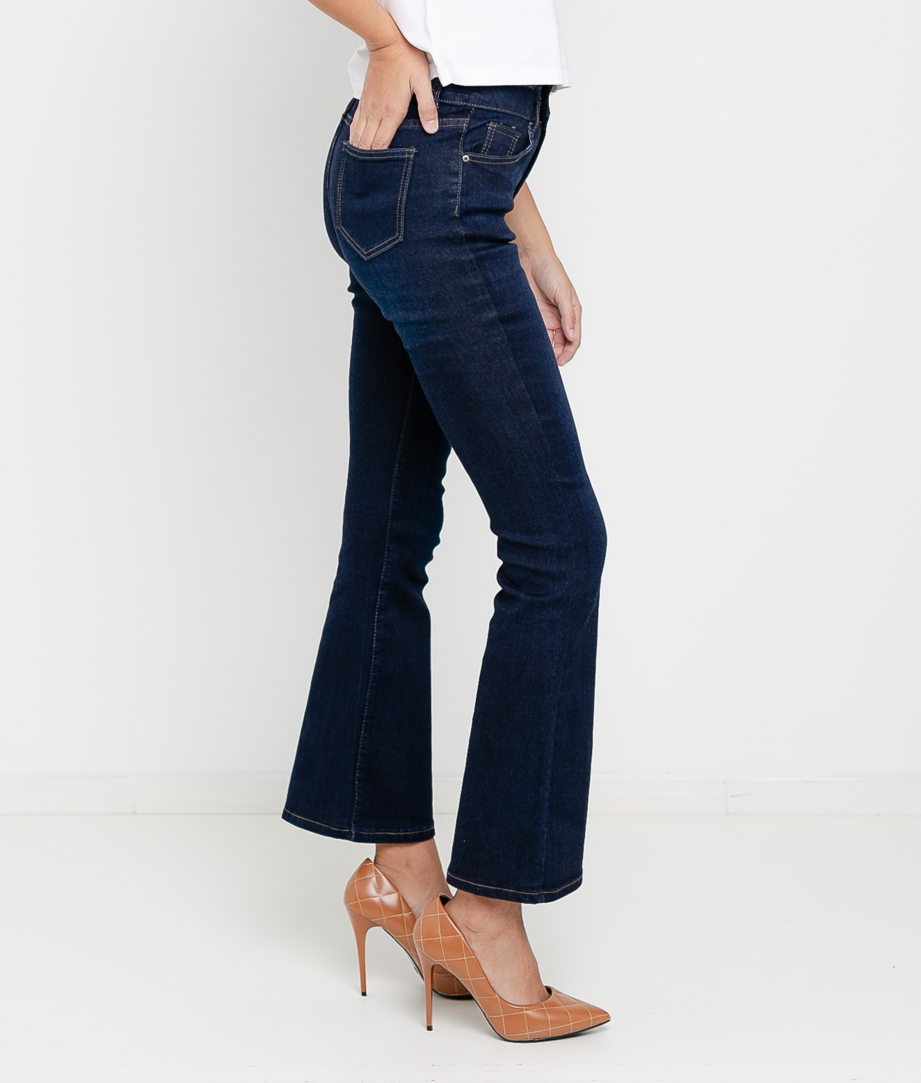 REMION TROUSERS - DARK DENIM