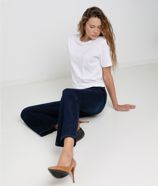 PANTALONI REMION - DENIM SCURO
