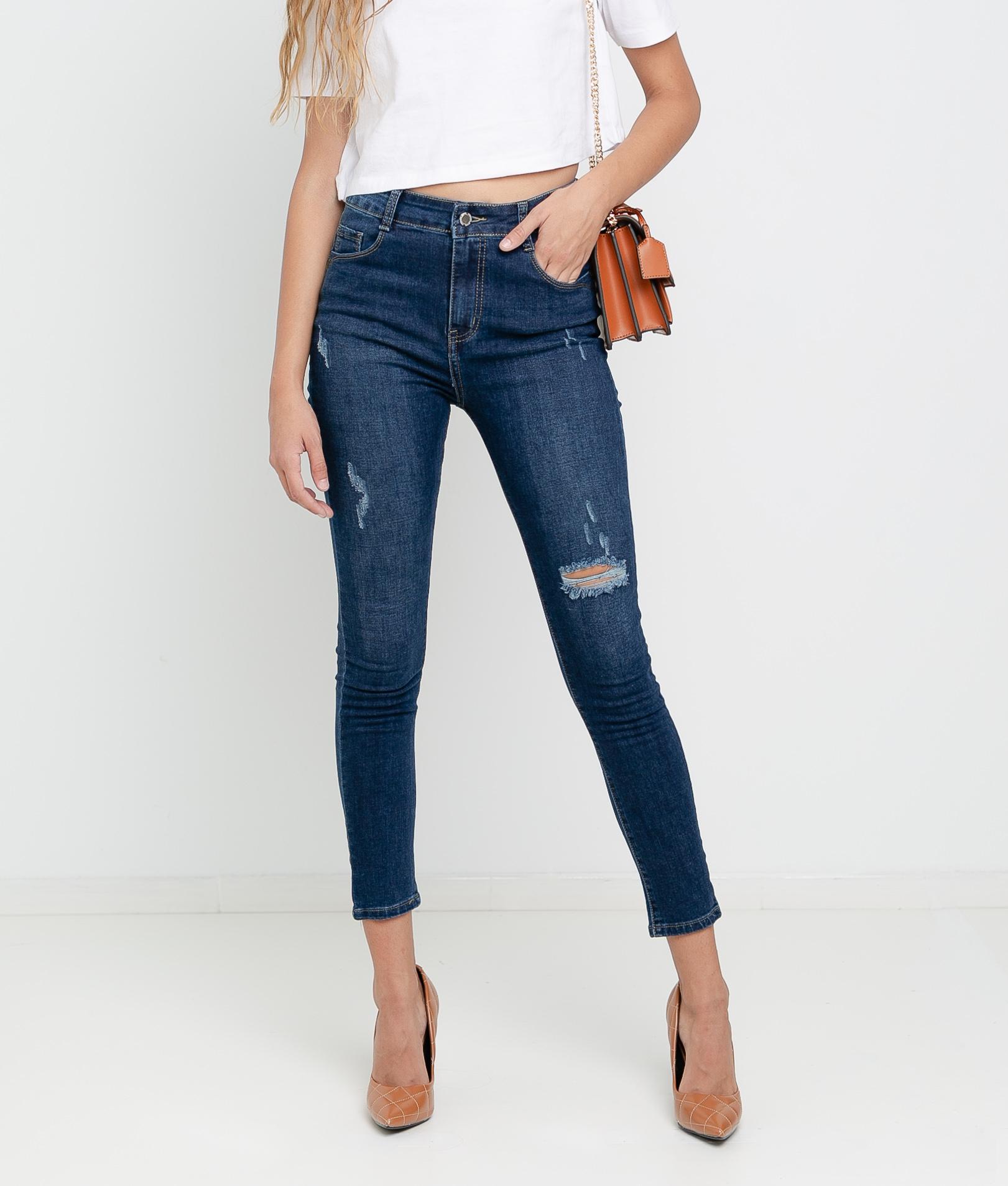 Pantaloni Borie - Denim