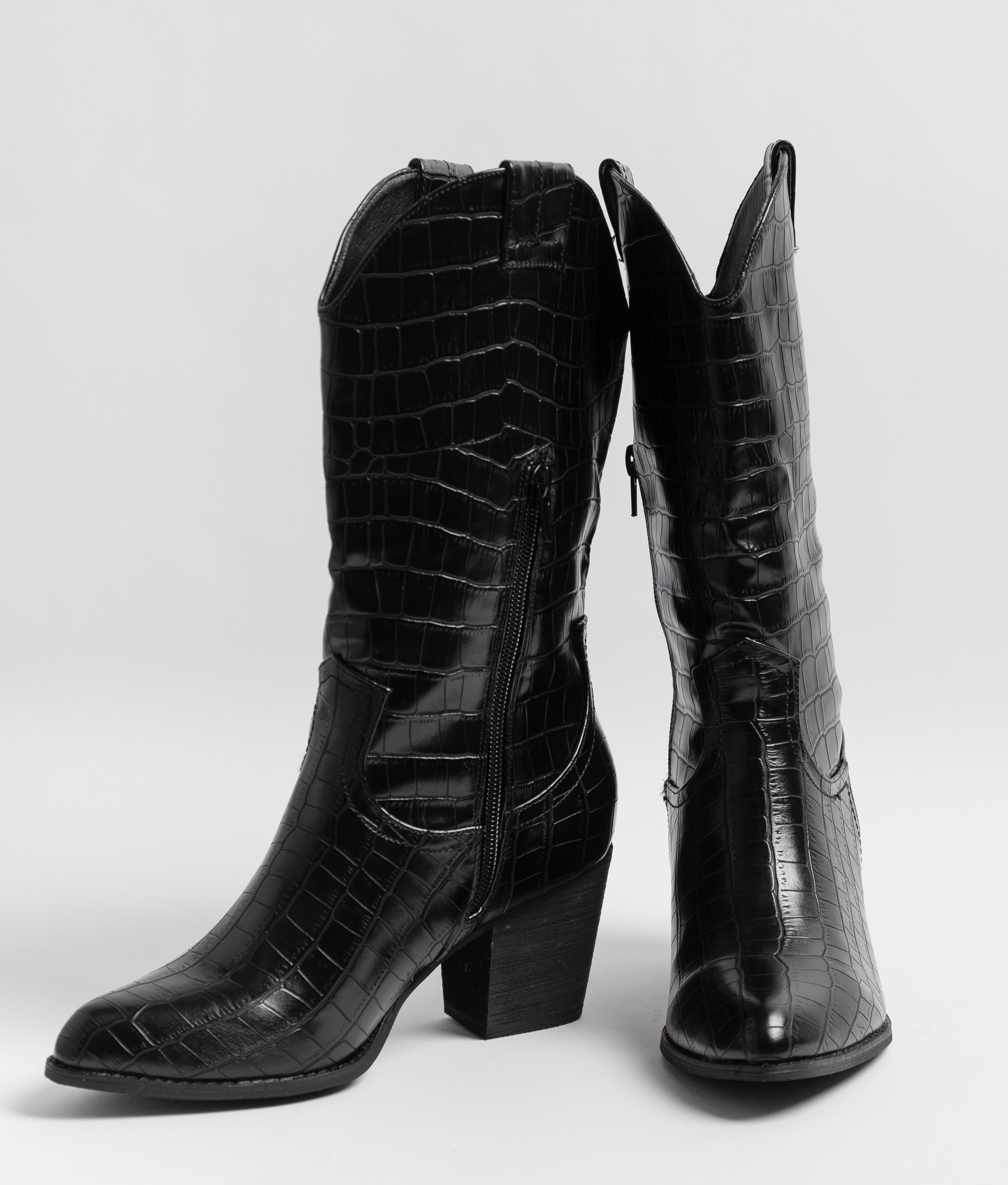Low Boot Turina - Black