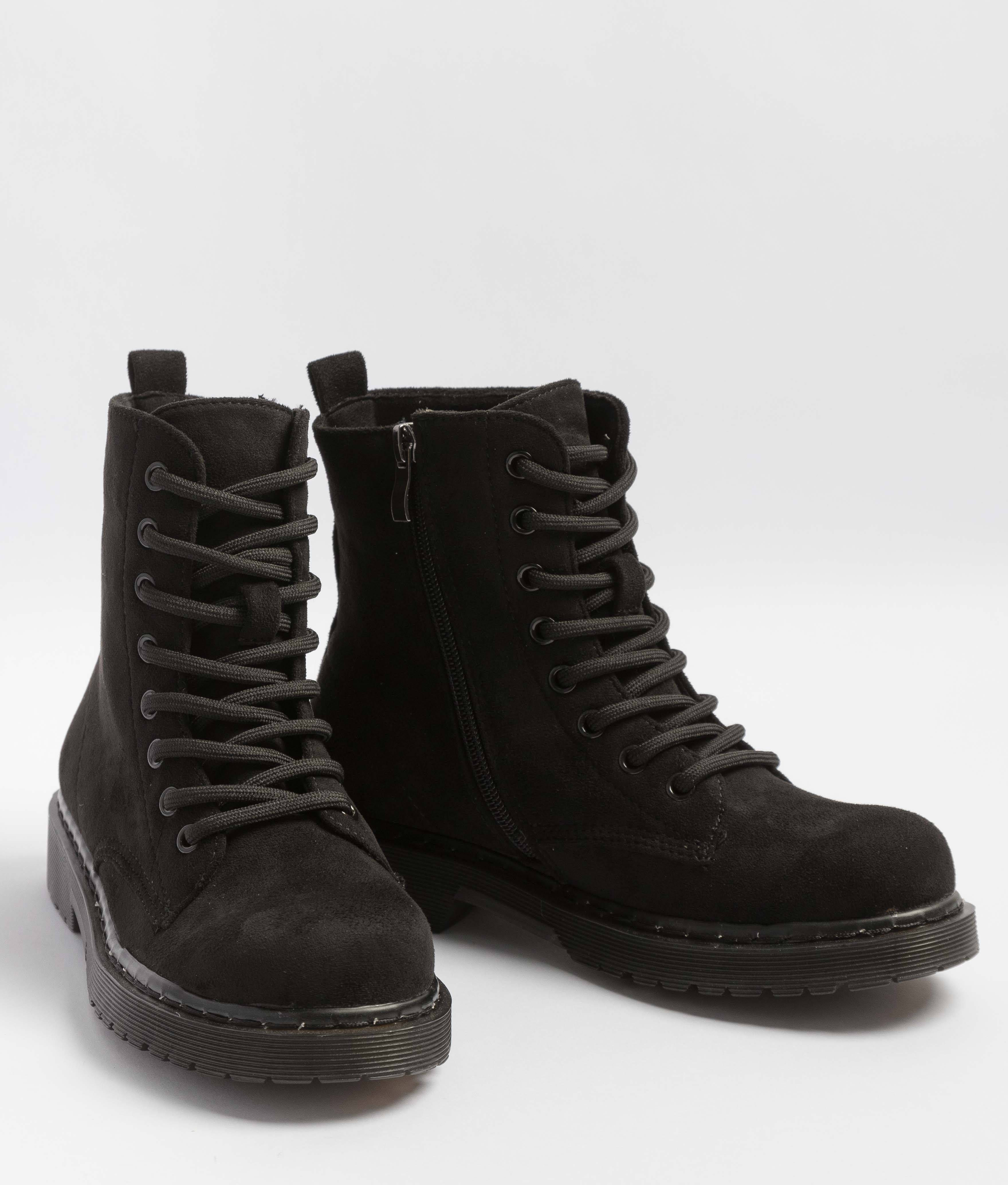 Low Boot Campa - Black