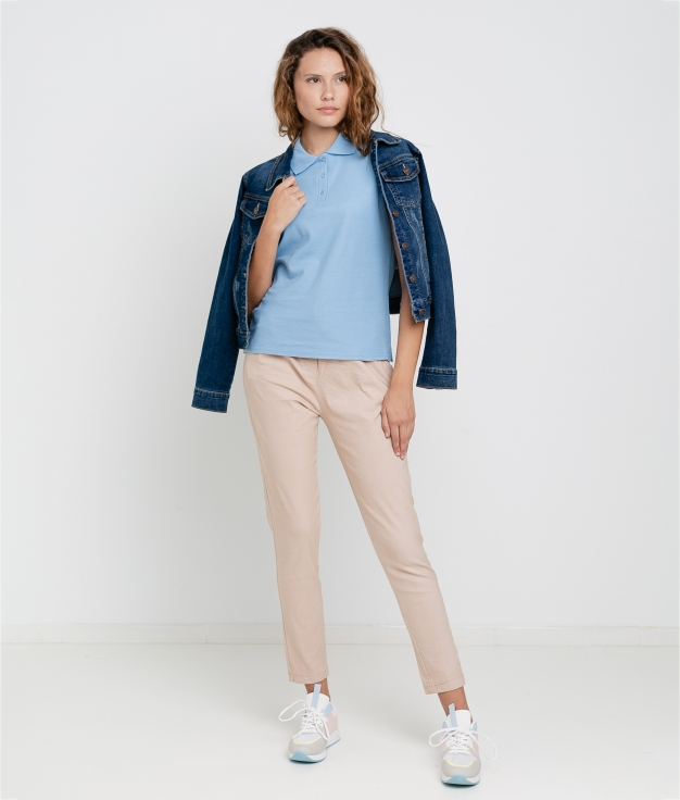 FLORA TROUSERS - PINK