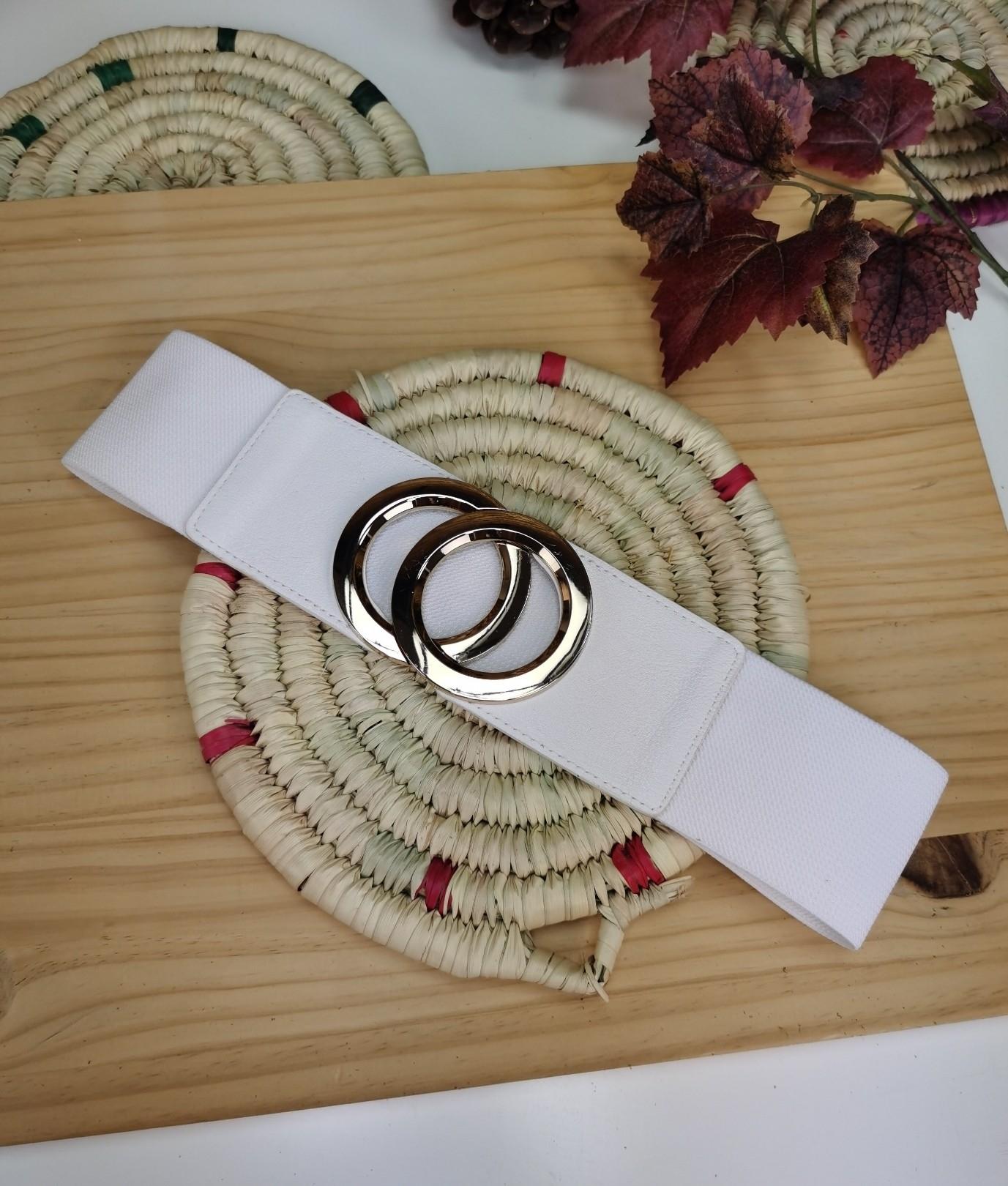 Cinturón Martina - blanco