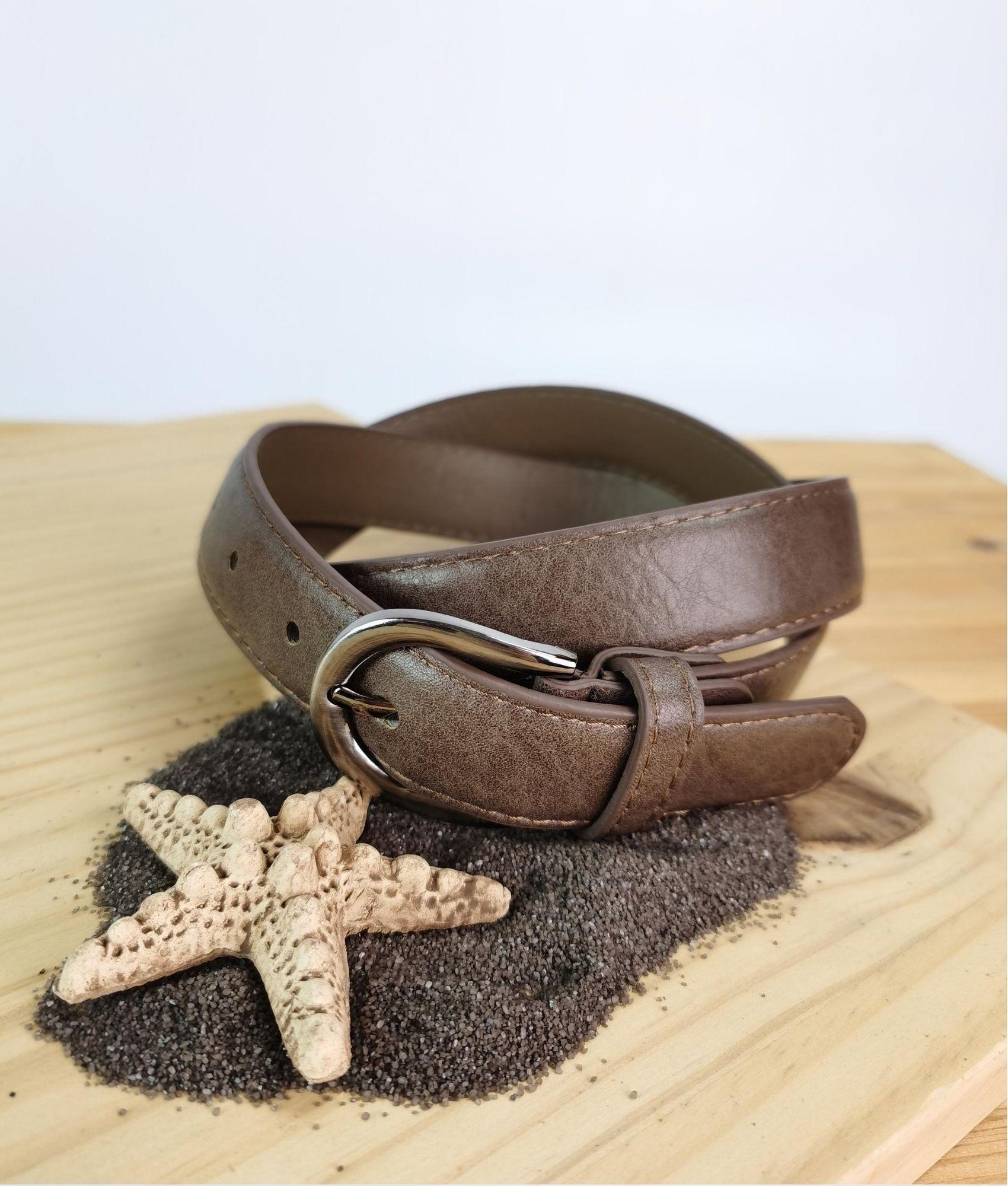 Carola belt - coffee