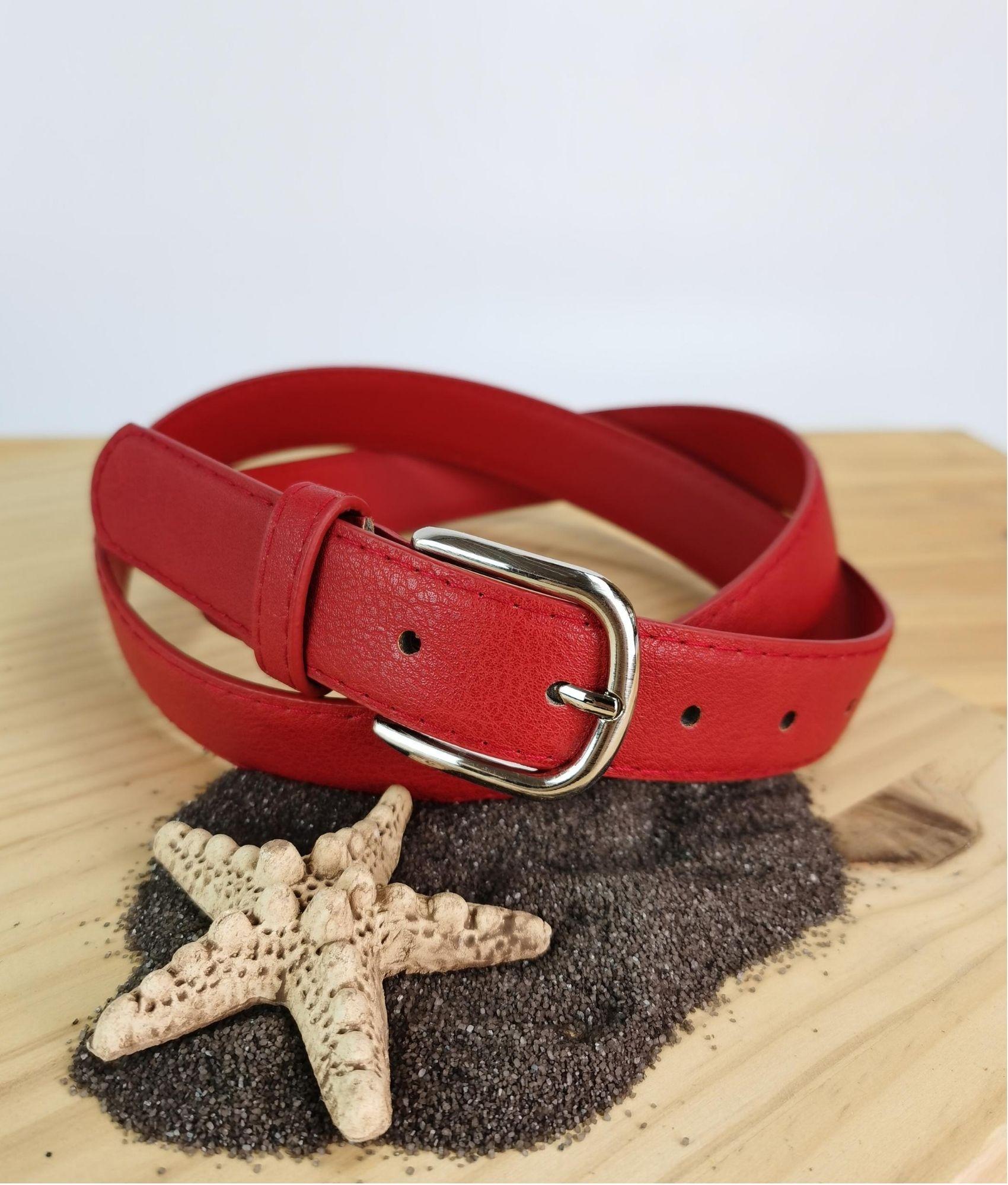 Carola belt - red
