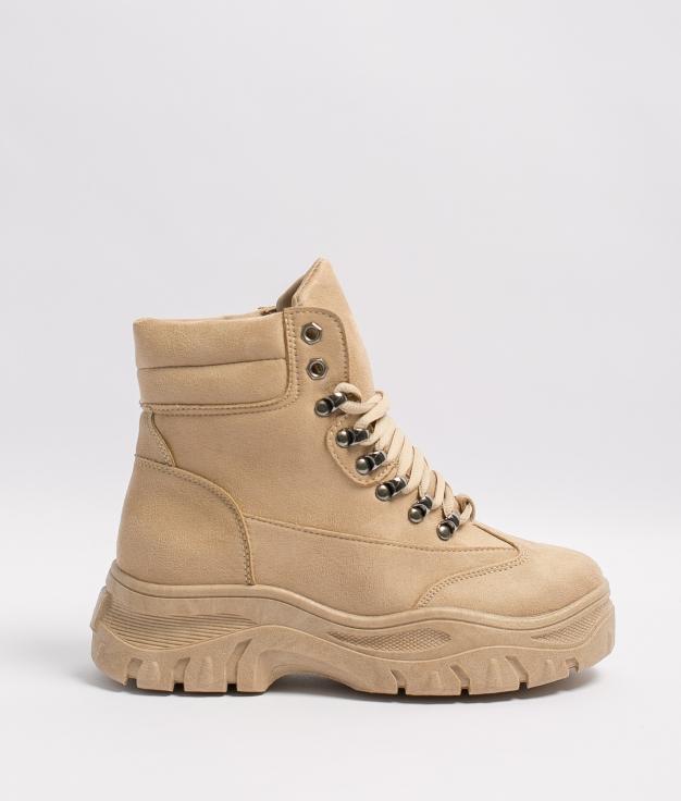 Low boot Carea - Beige