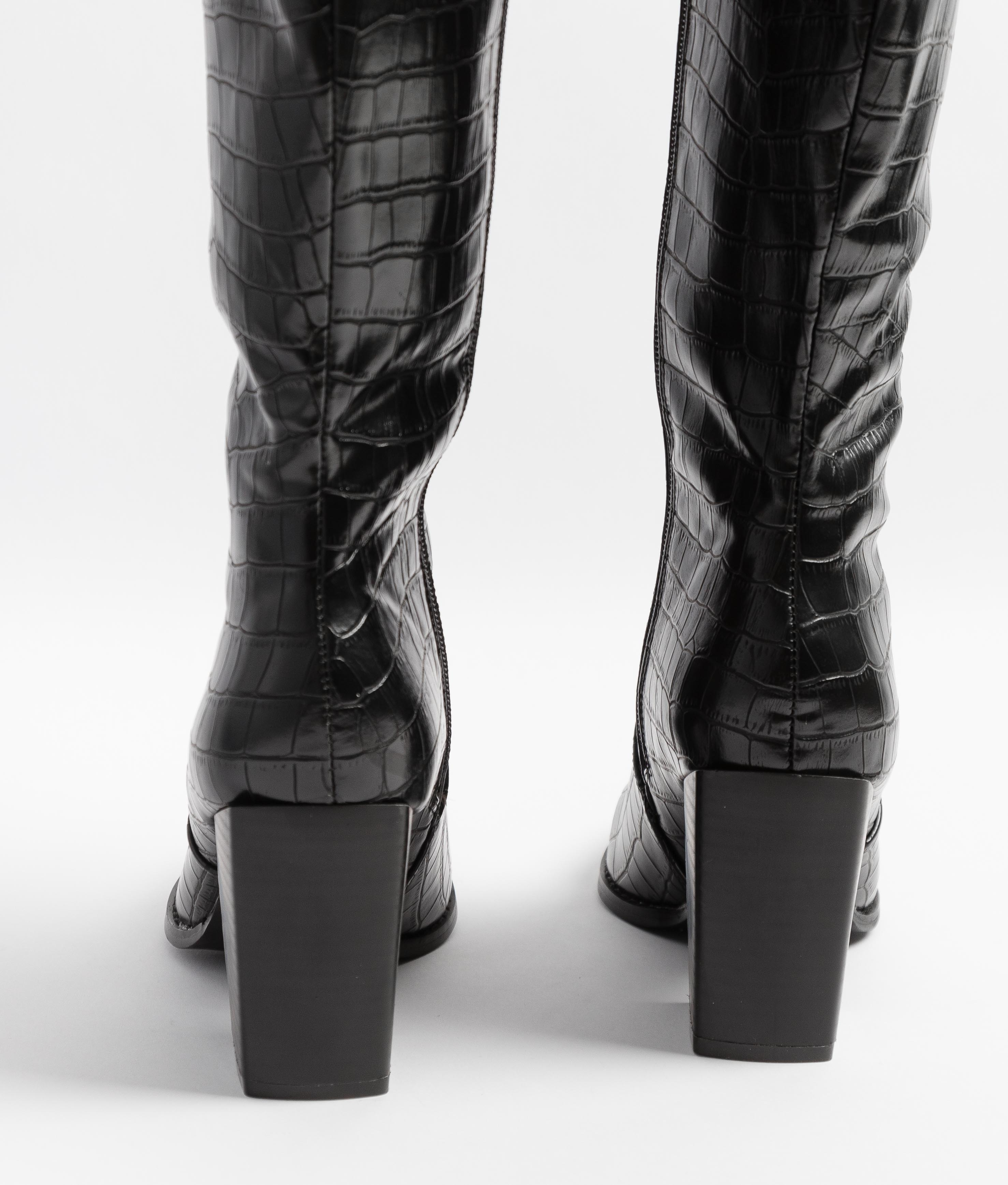 Knee-Lenght Boot Drila - Black