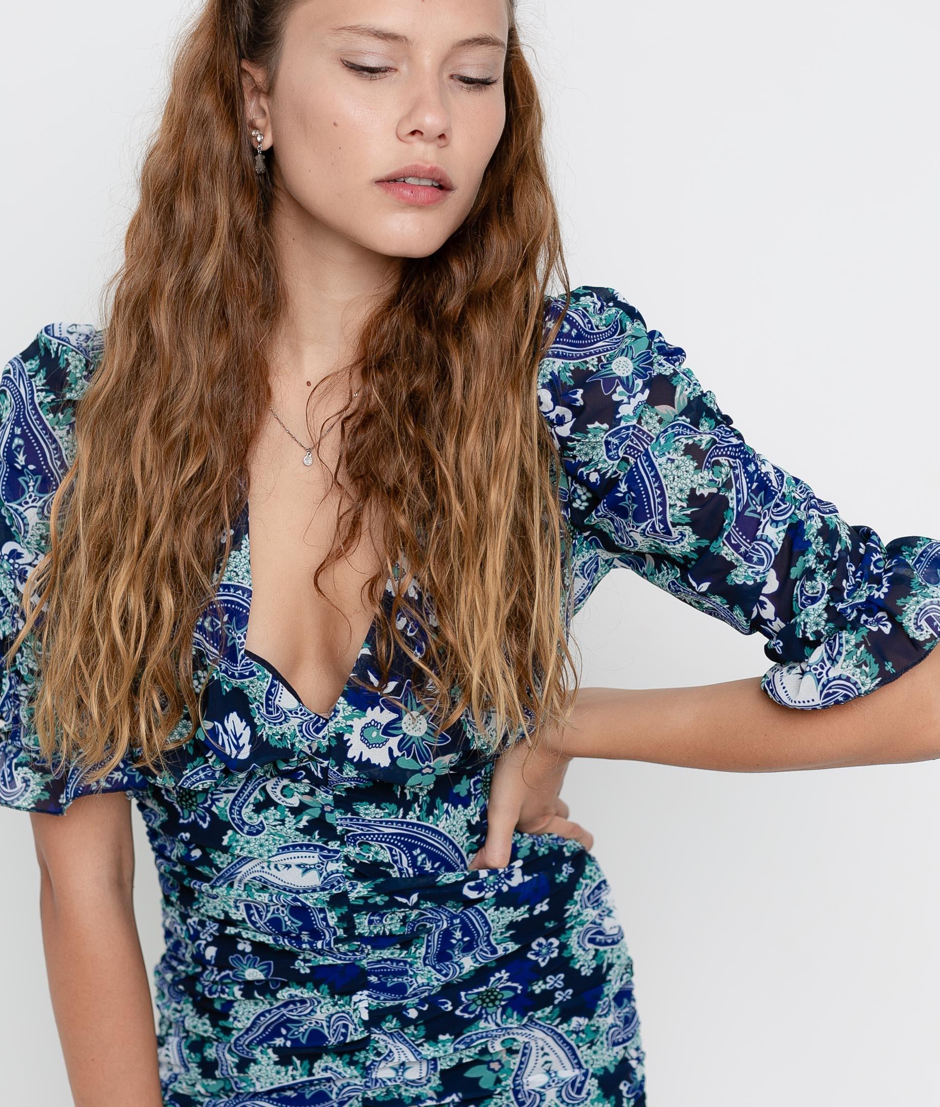 Dress Lavoe - Black/Blue
