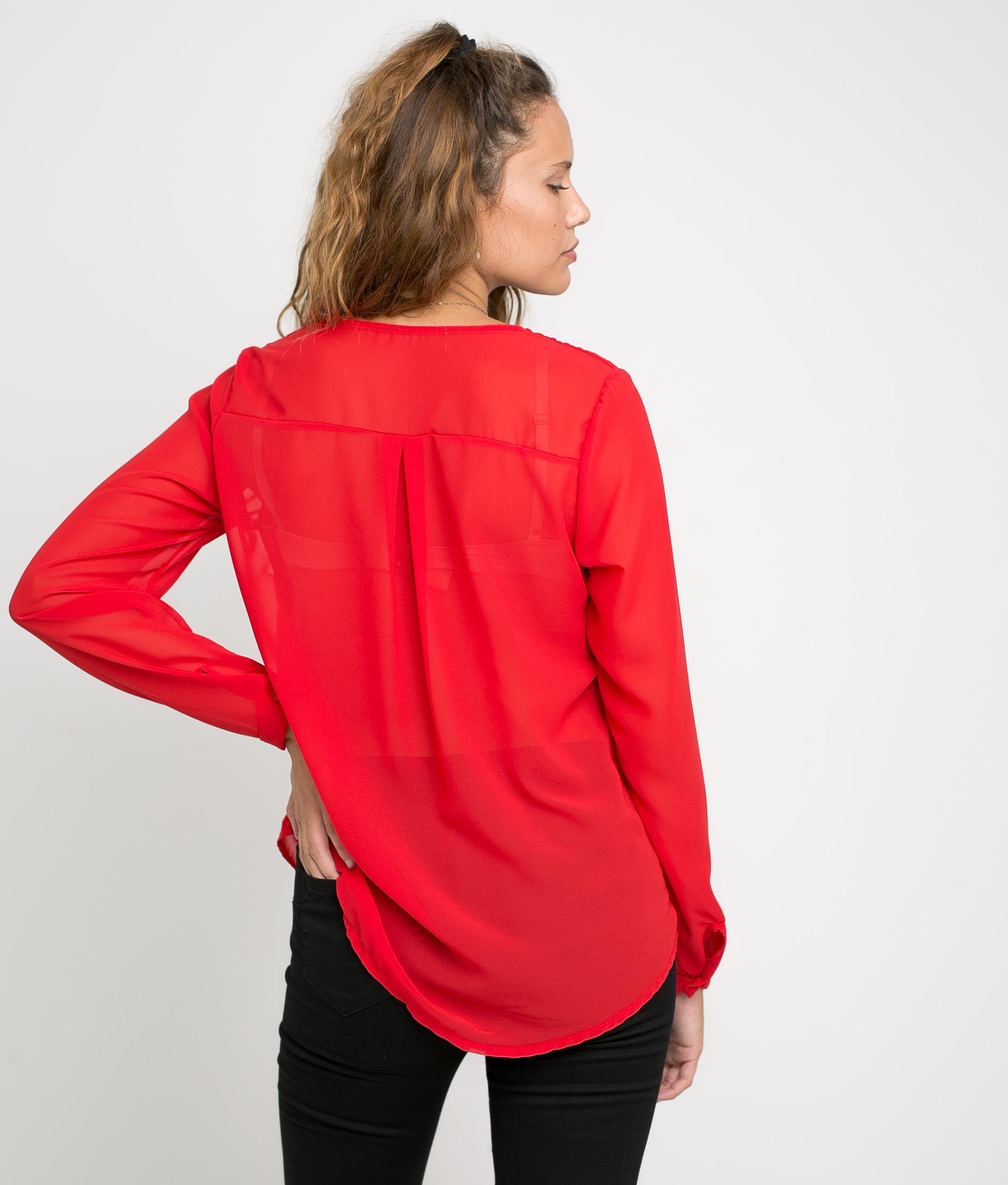 Camiseta Hamjo - Rojo