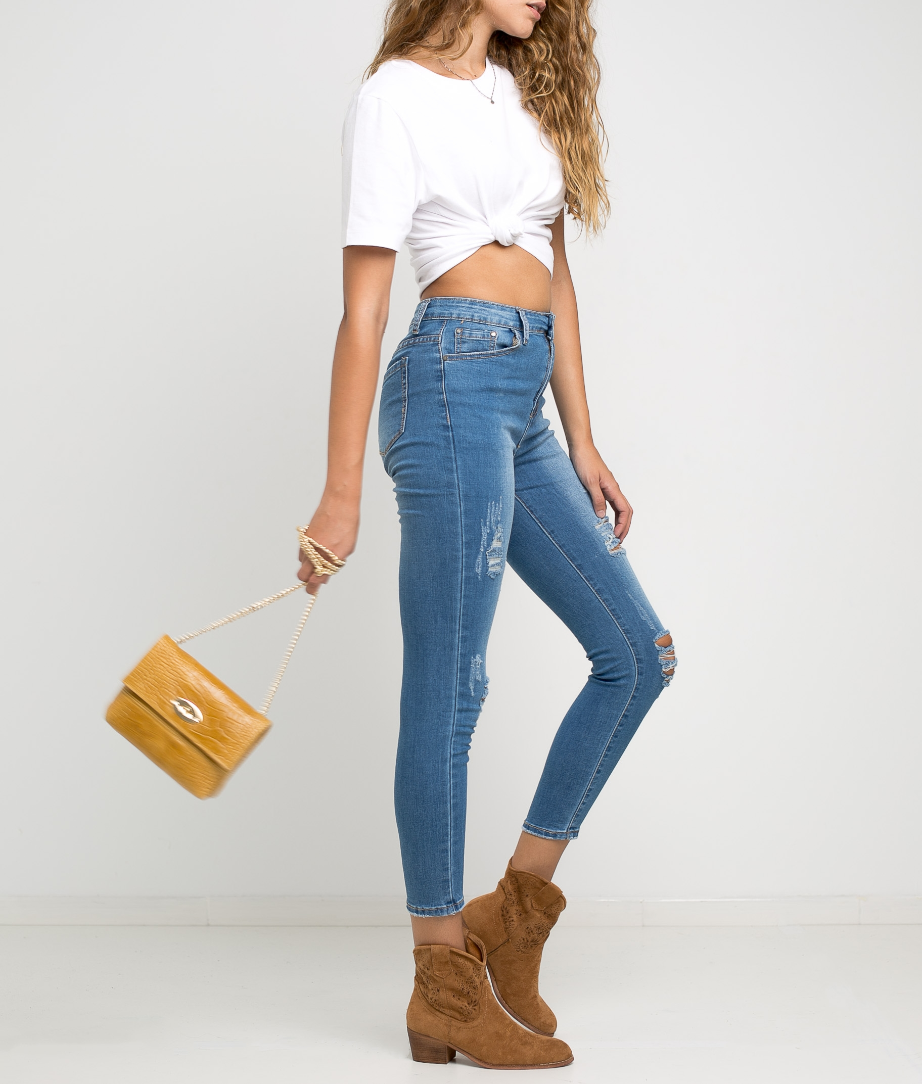 Trousers Rombe - Denim