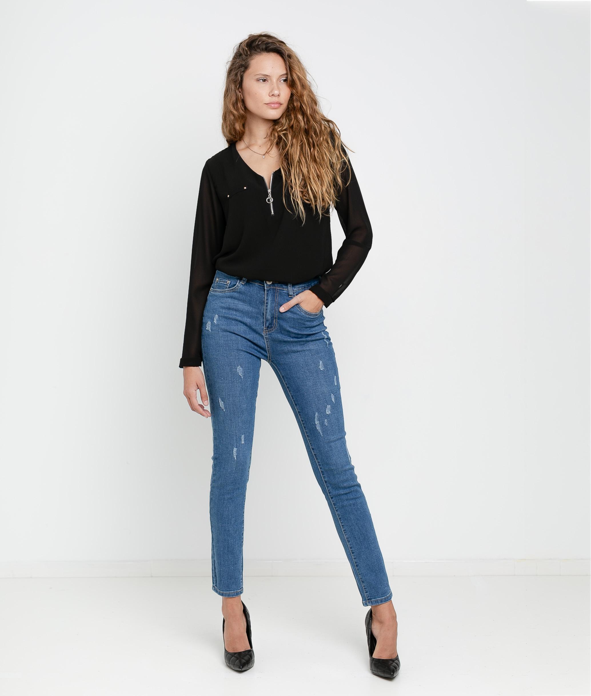 Pantaloni Termi - Denim