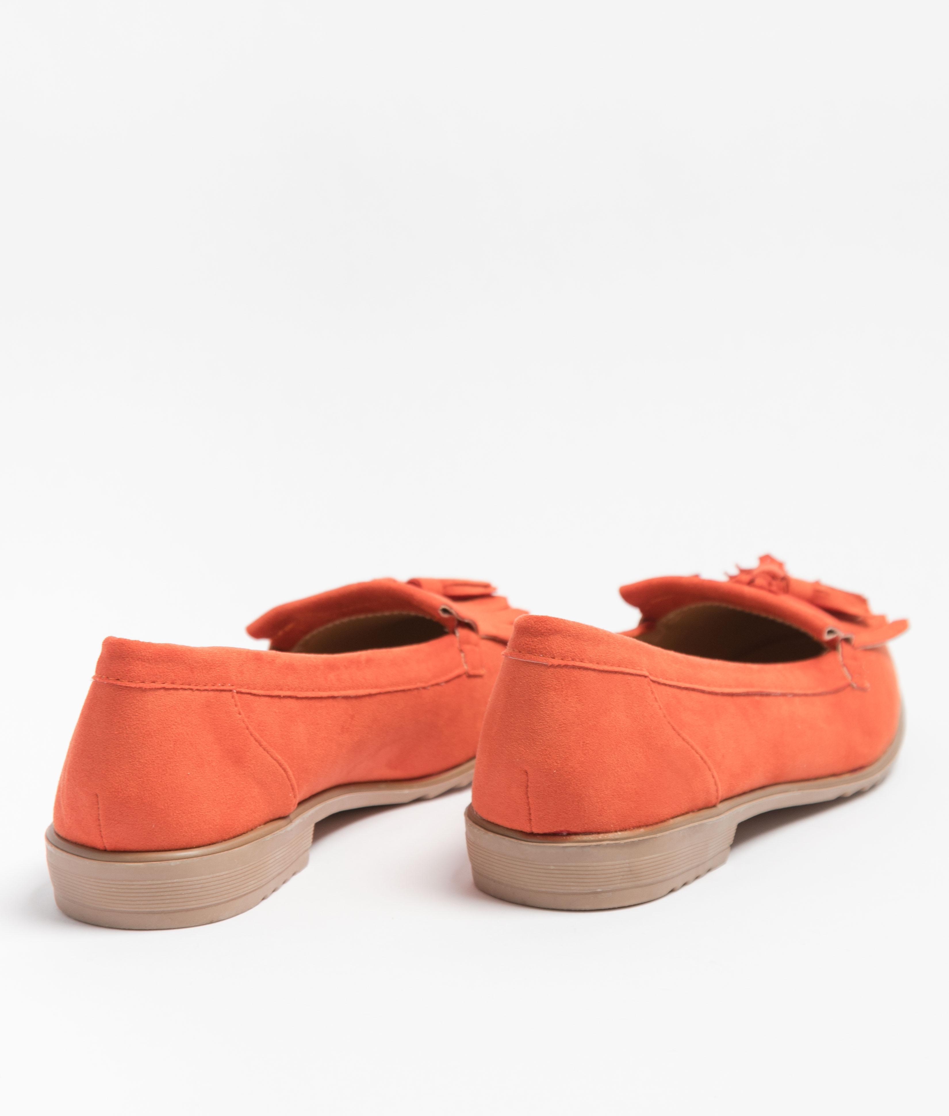 Zapatito Canadiense - Naranja