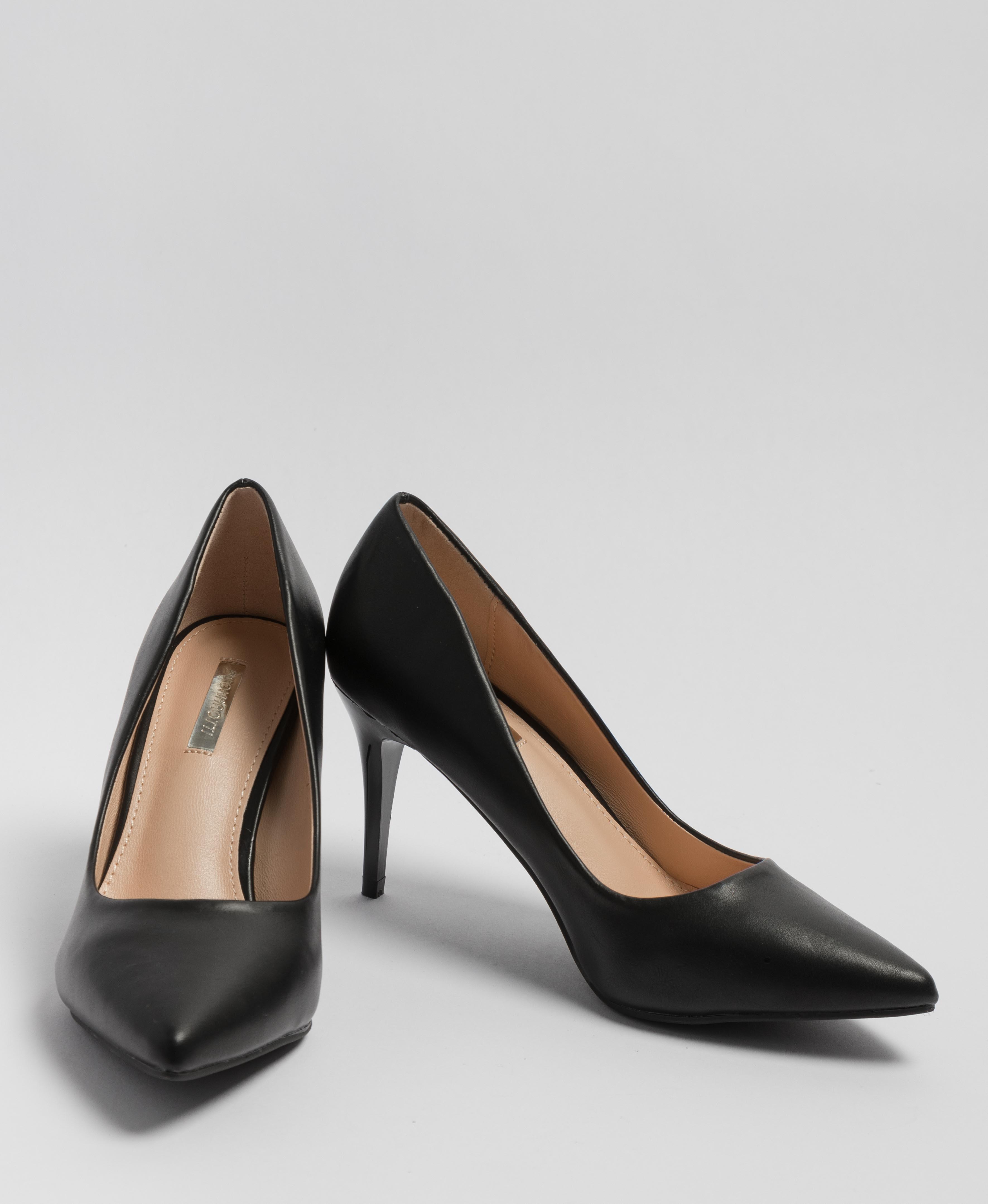 Sapato De Salto Tilda - Preto