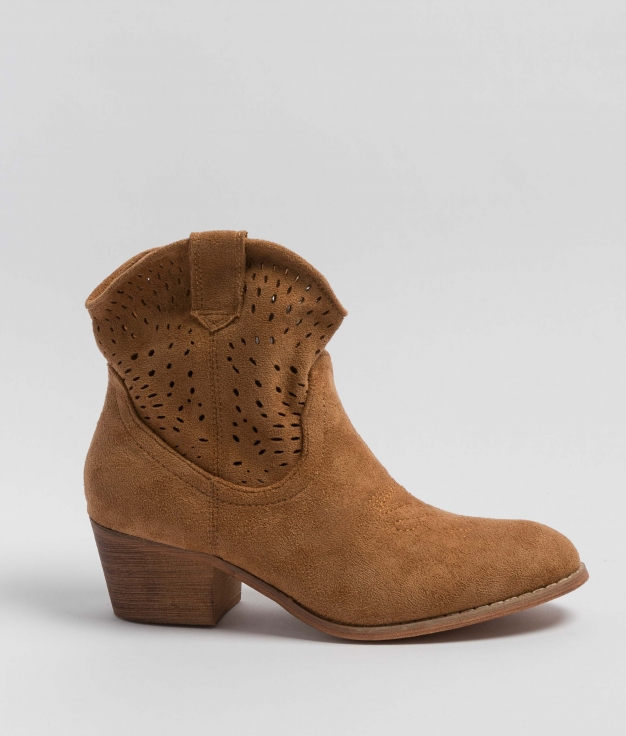 Low Boot Rimi - Camel