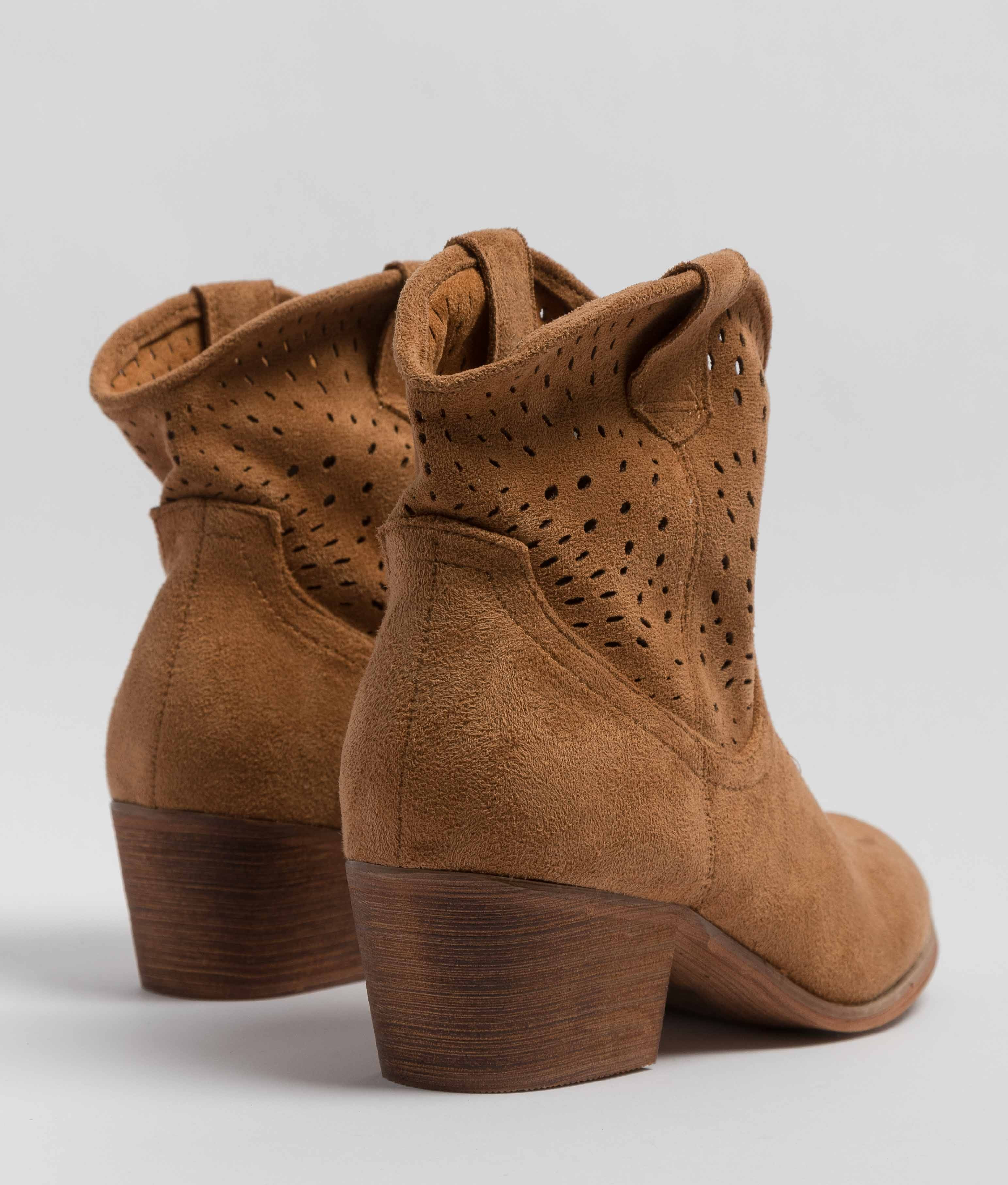 Low Boot Rimi - Camel
