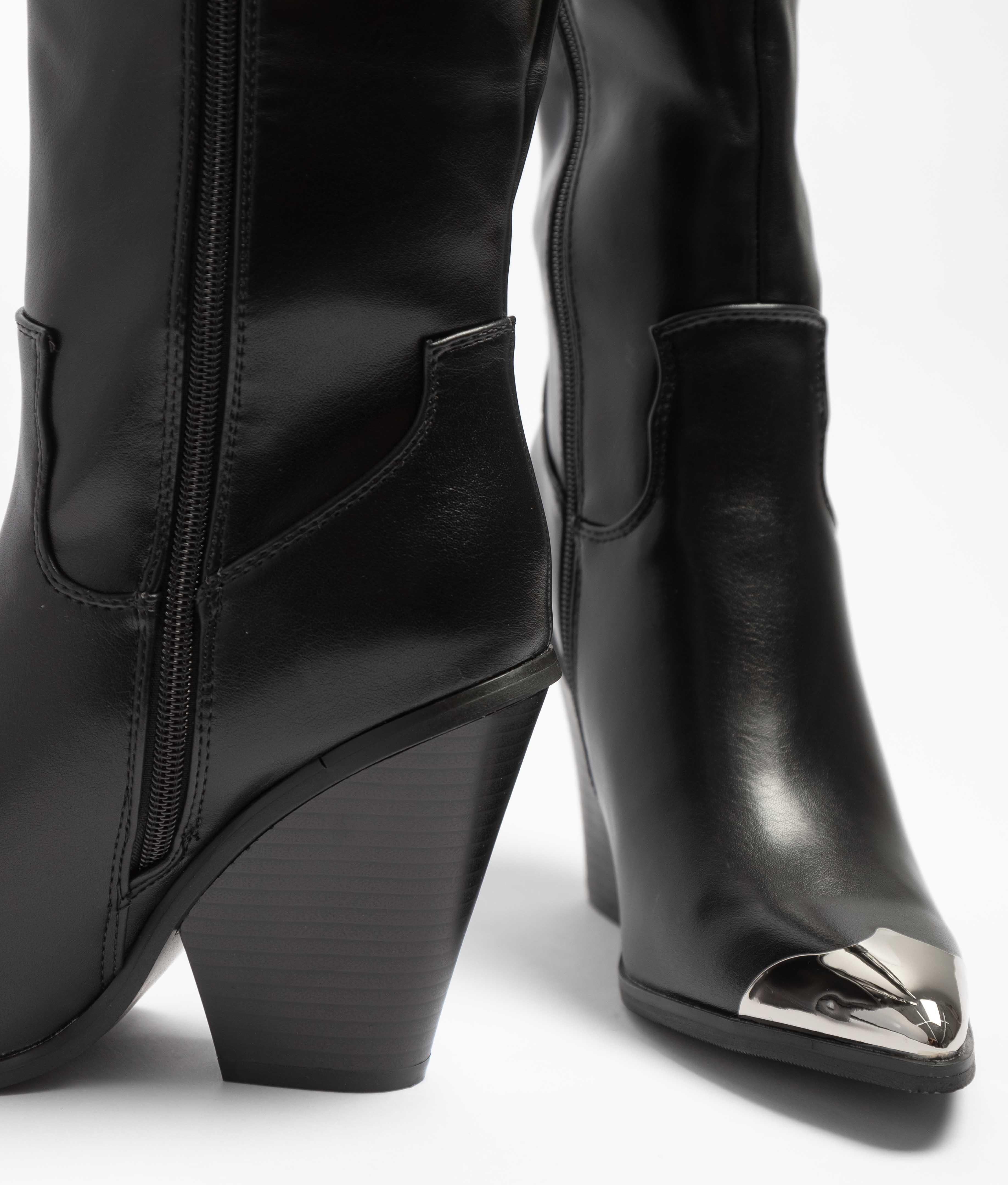 Knee-Lenght Boot Soila - Black