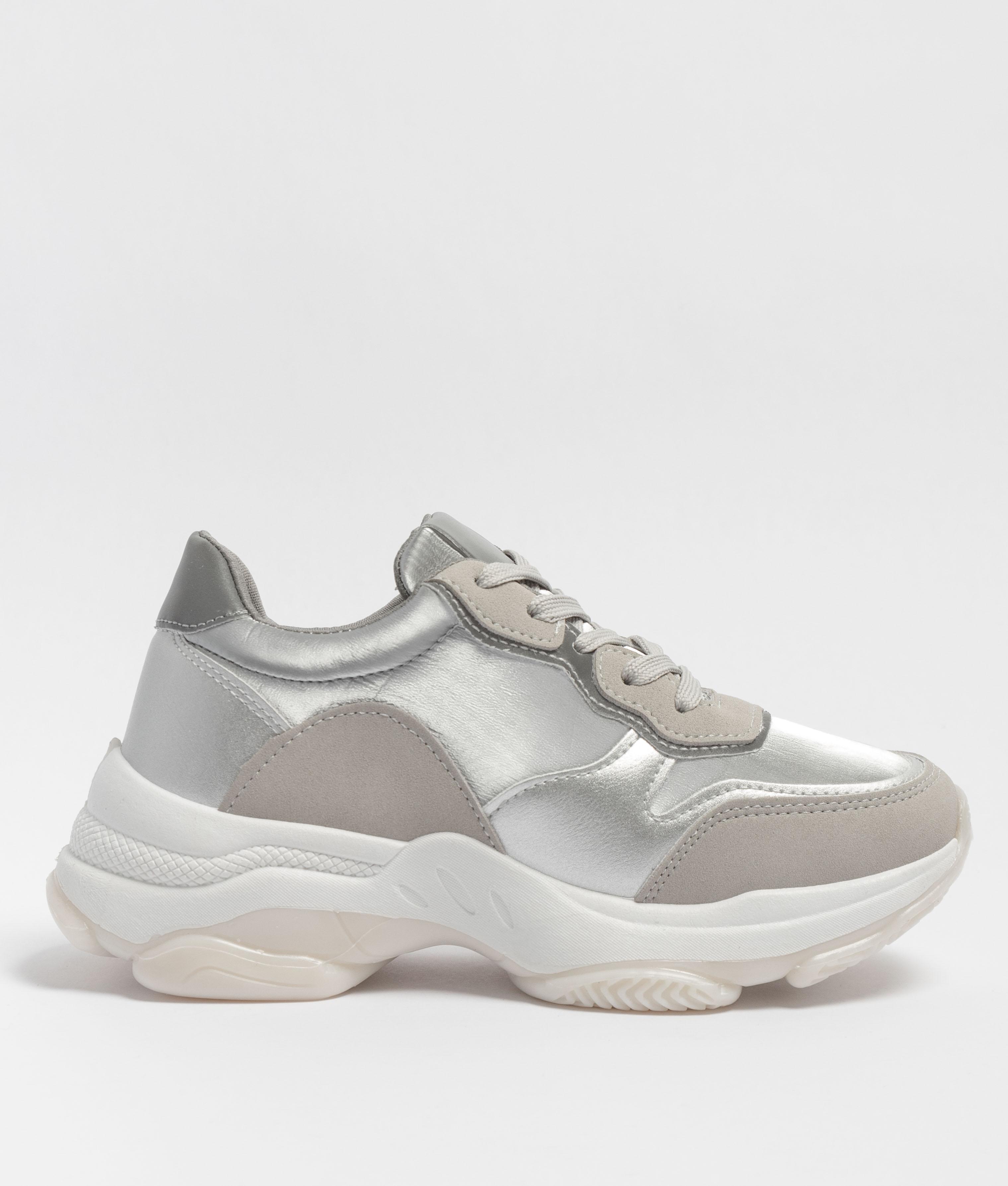 Sneakers Versus - Argent