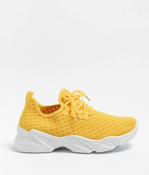 Sneakers Grumpy - Yellow