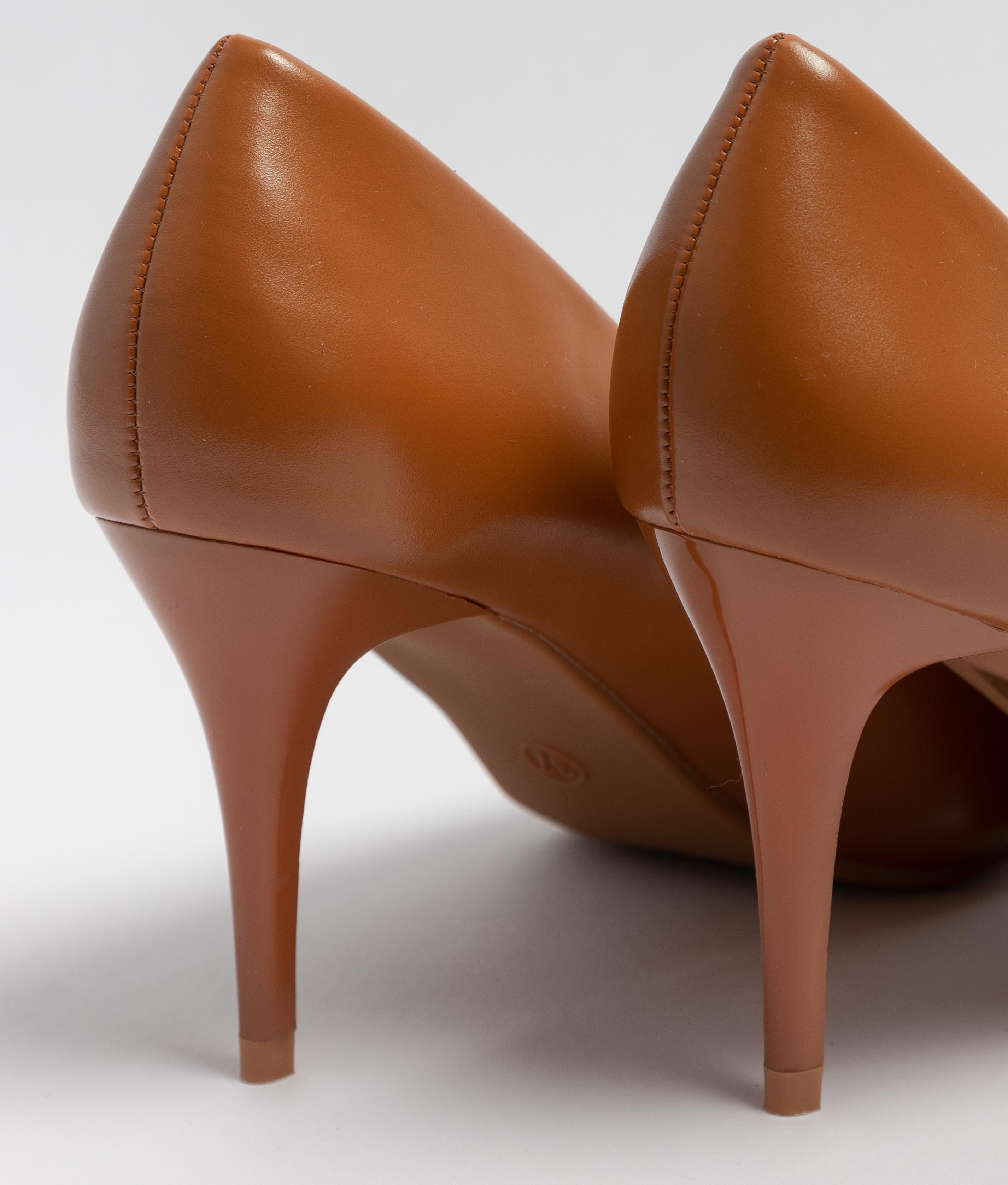 Heels Shoes Tilda - Camel
