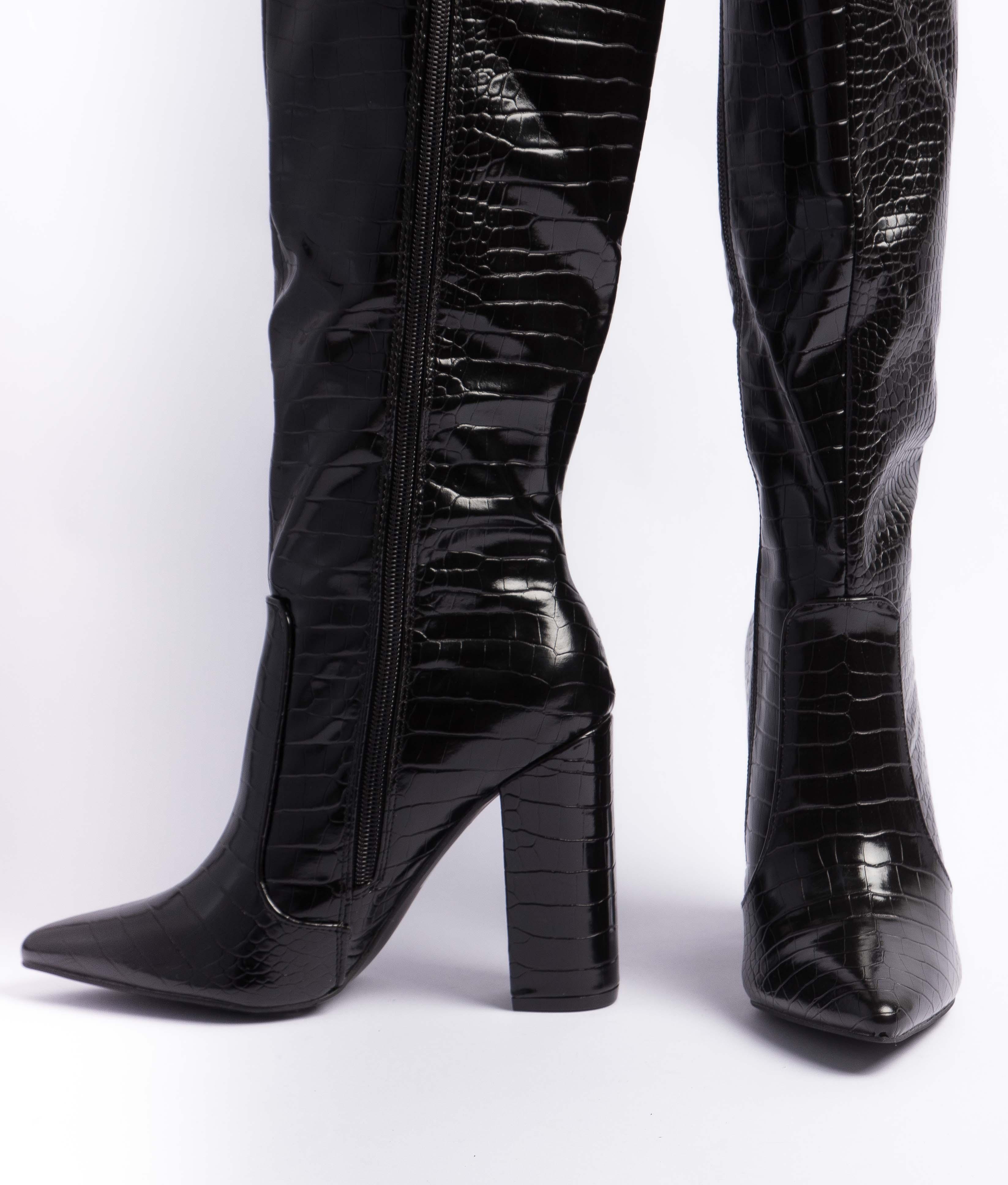 Knee-length Boot Corco - Black