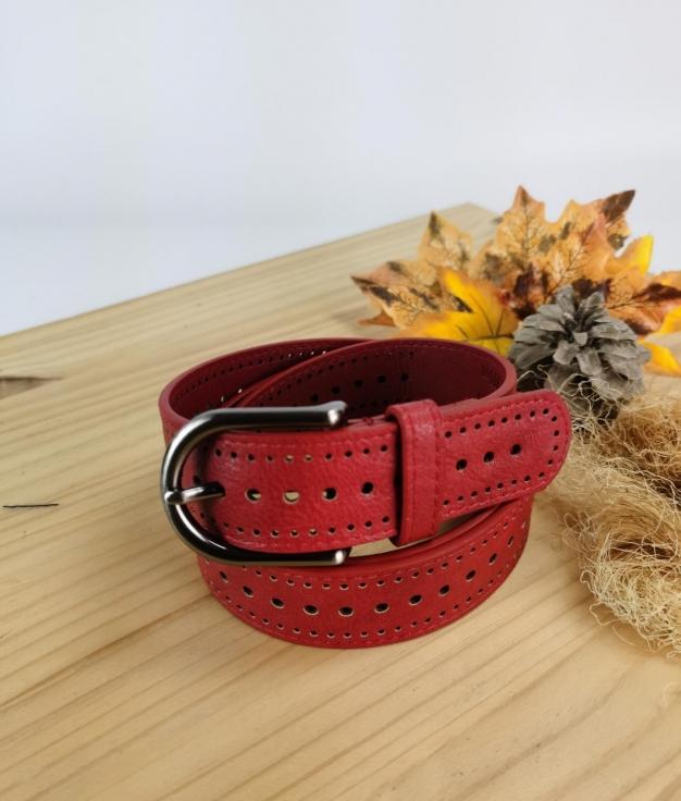 Cinturón Ana - rojo