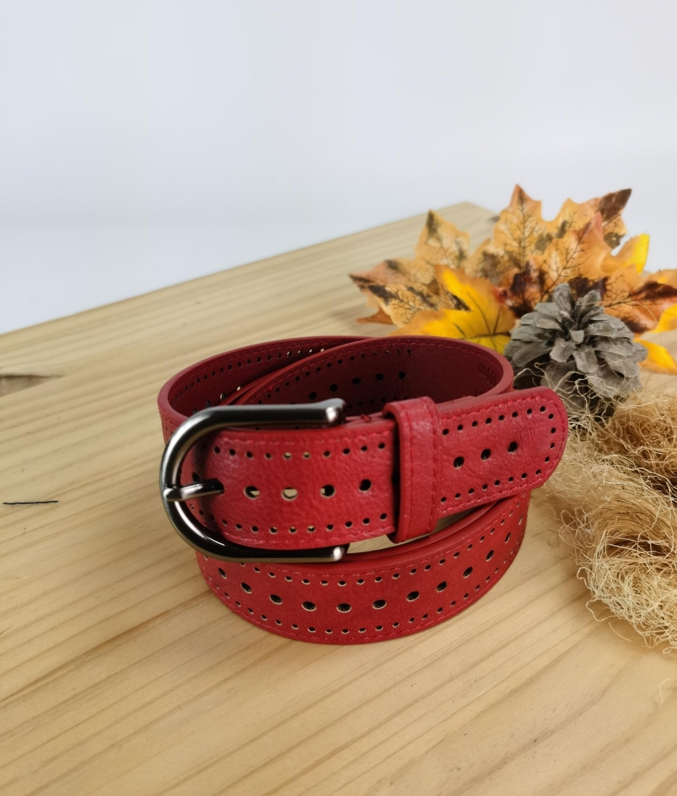 Ana belt - red