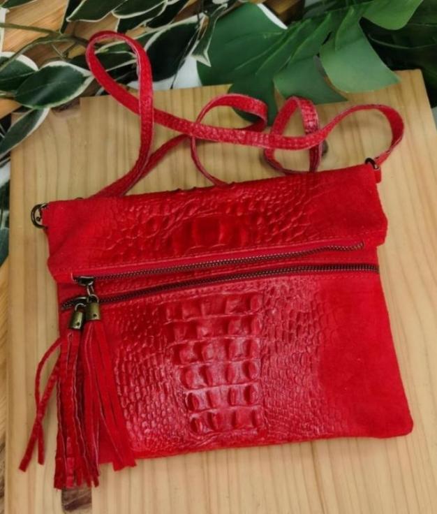 Shoulder bag Cicito - red