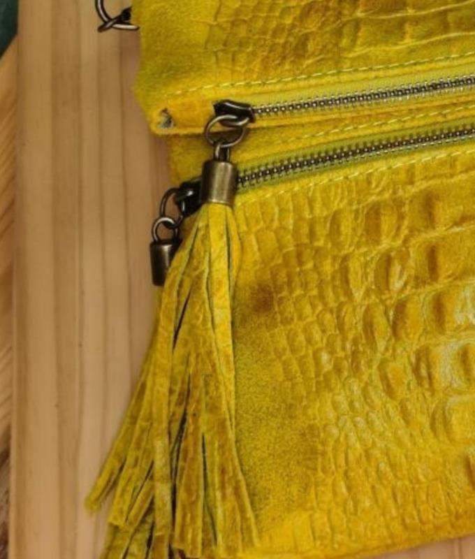 Sac porte épaule Cicito - jaune