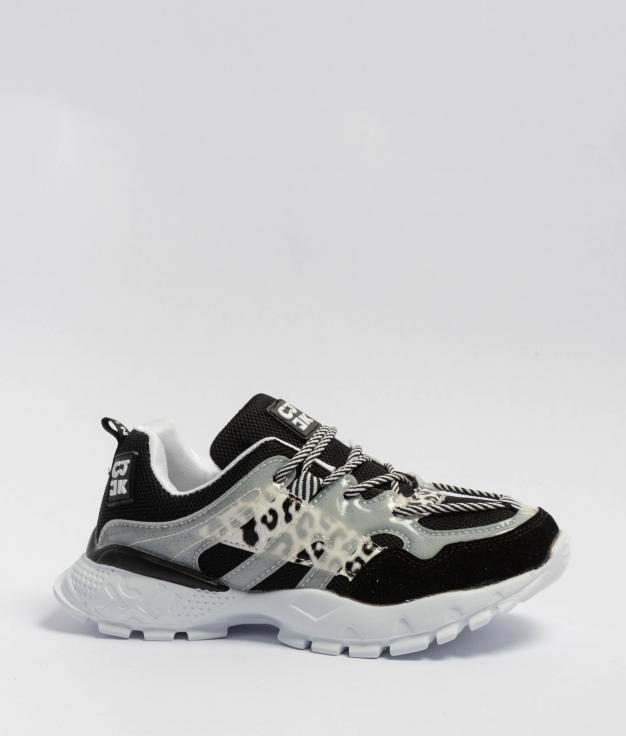 Sneakers Lepar - Nero