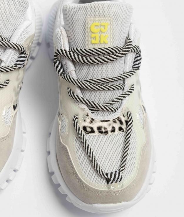 Sneakers Lepar - Bianco