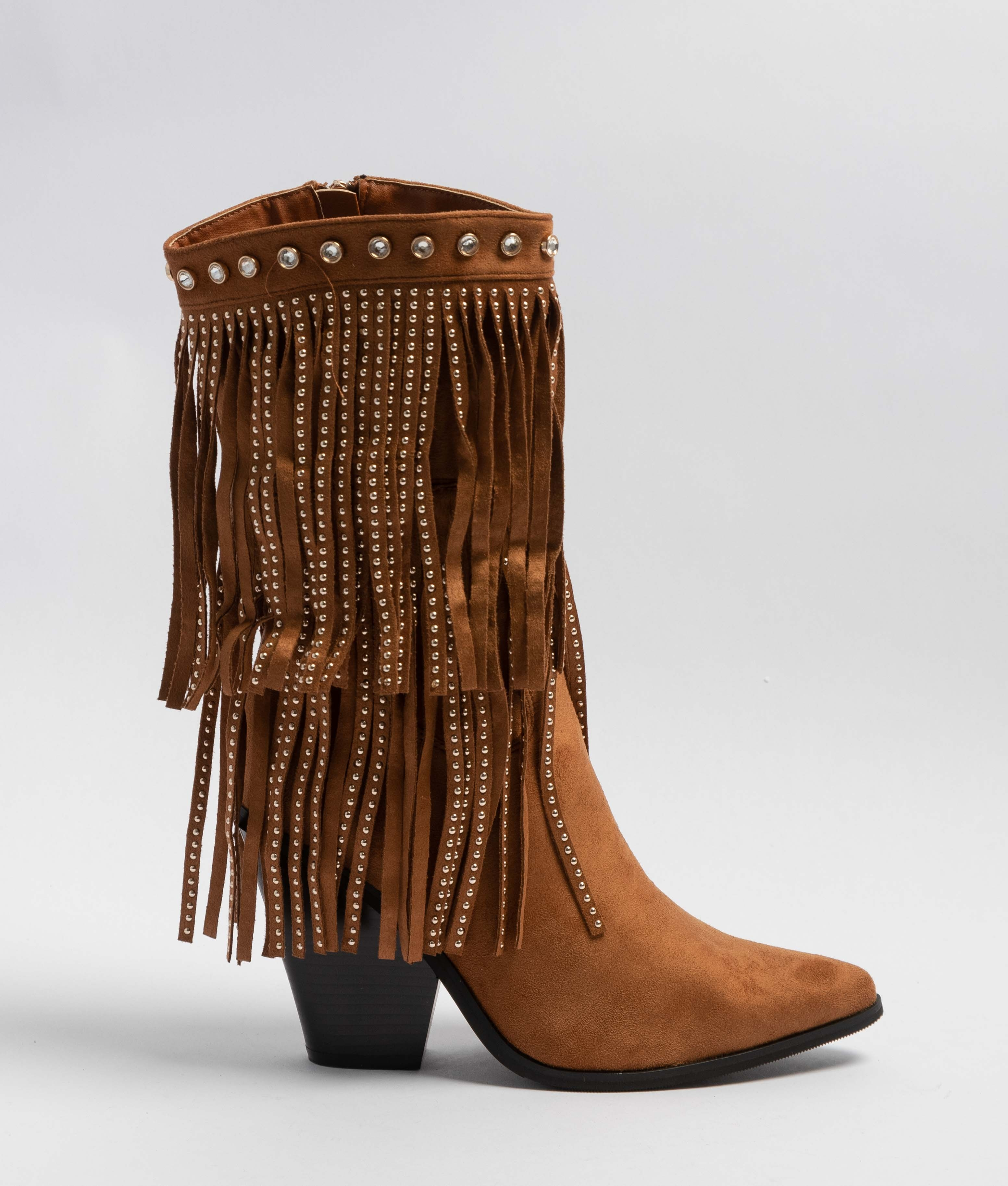 Low Boot Crida - Camel