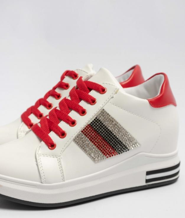 Sneakers Silky - Rojo