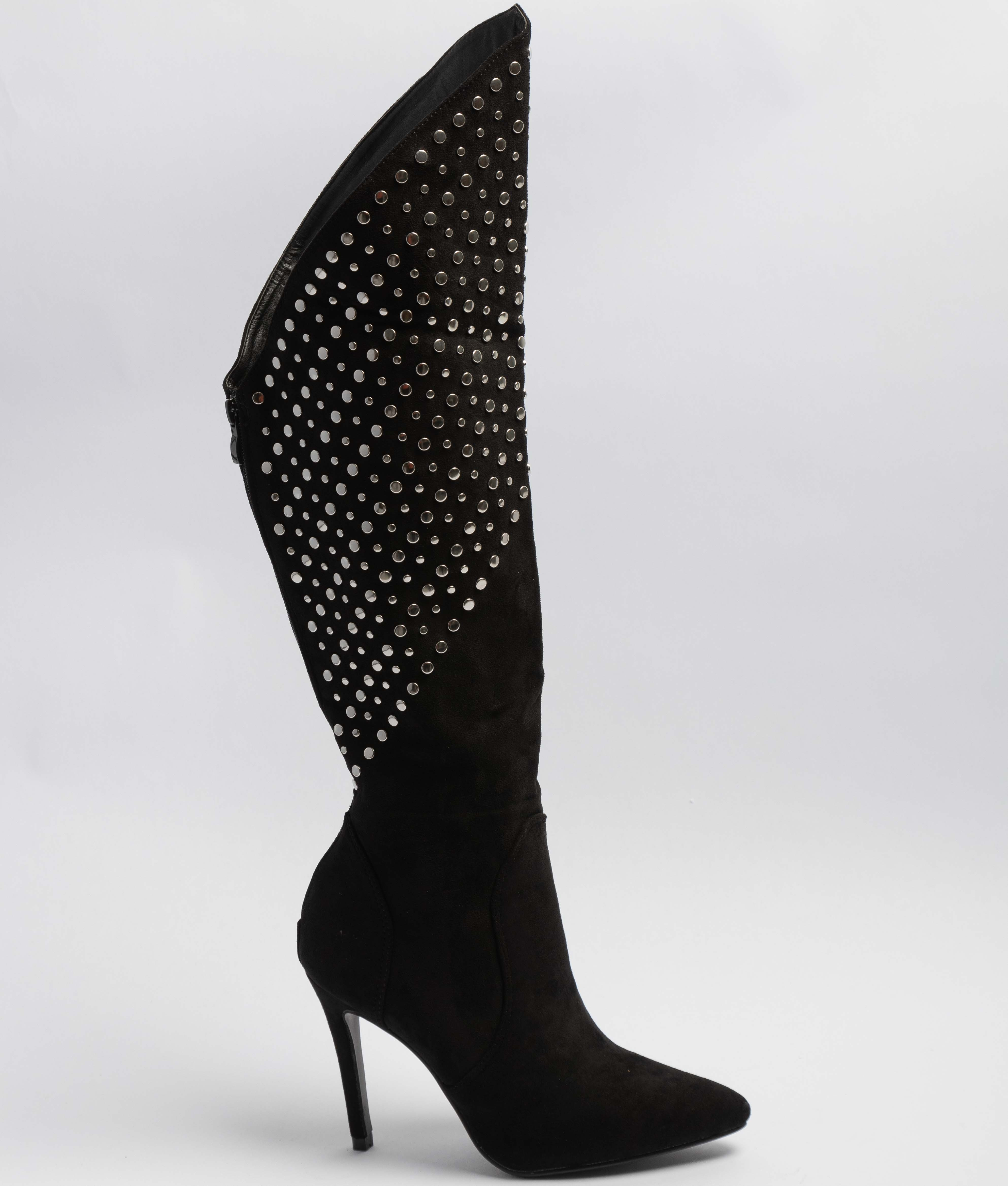 Knee-Lenght Boot Tiria - Black