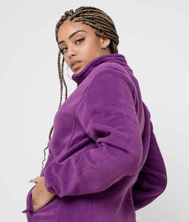 Jaqueta de lã Neurax - Roxo