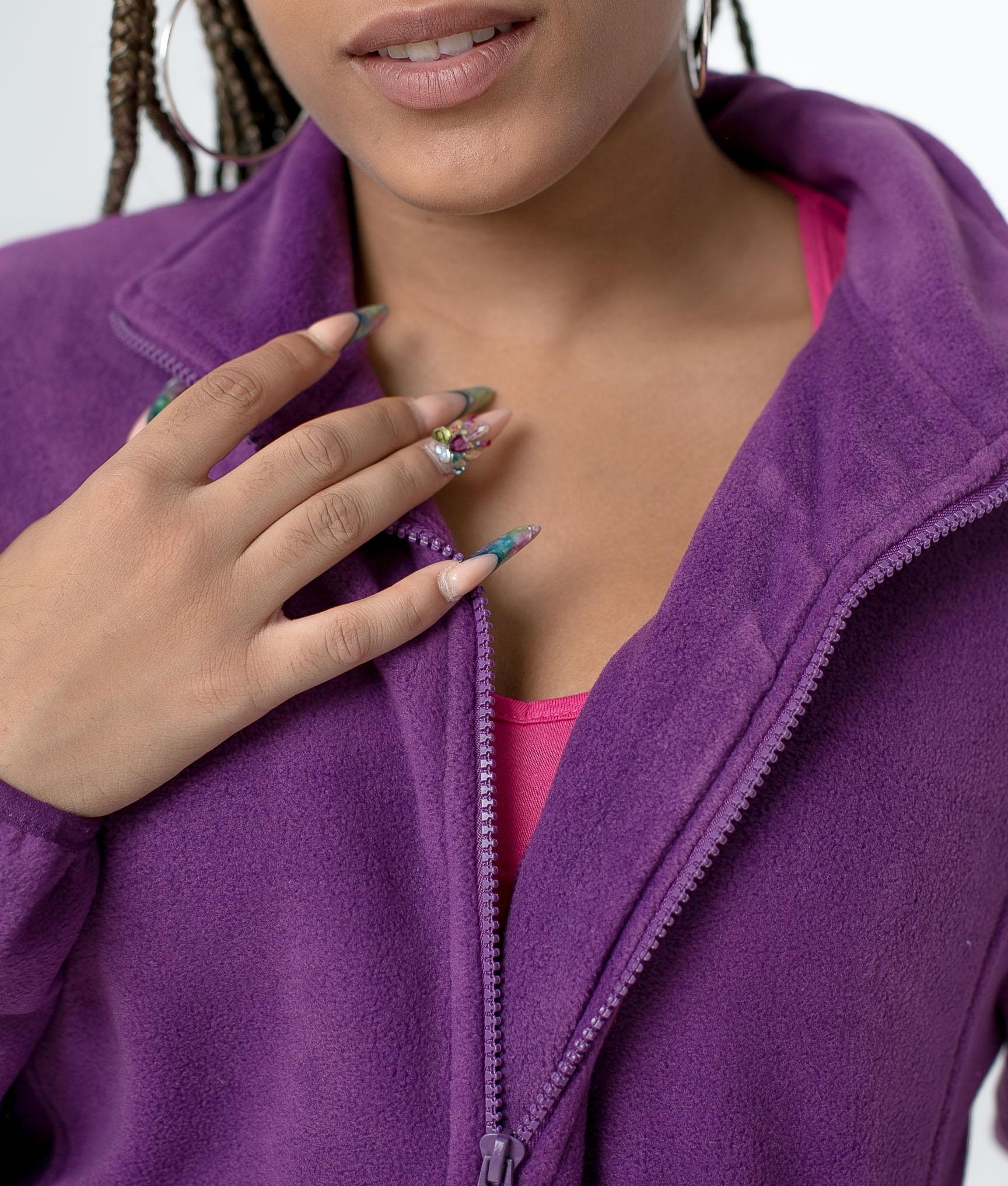 Fleece Jacket Neurax - Purple