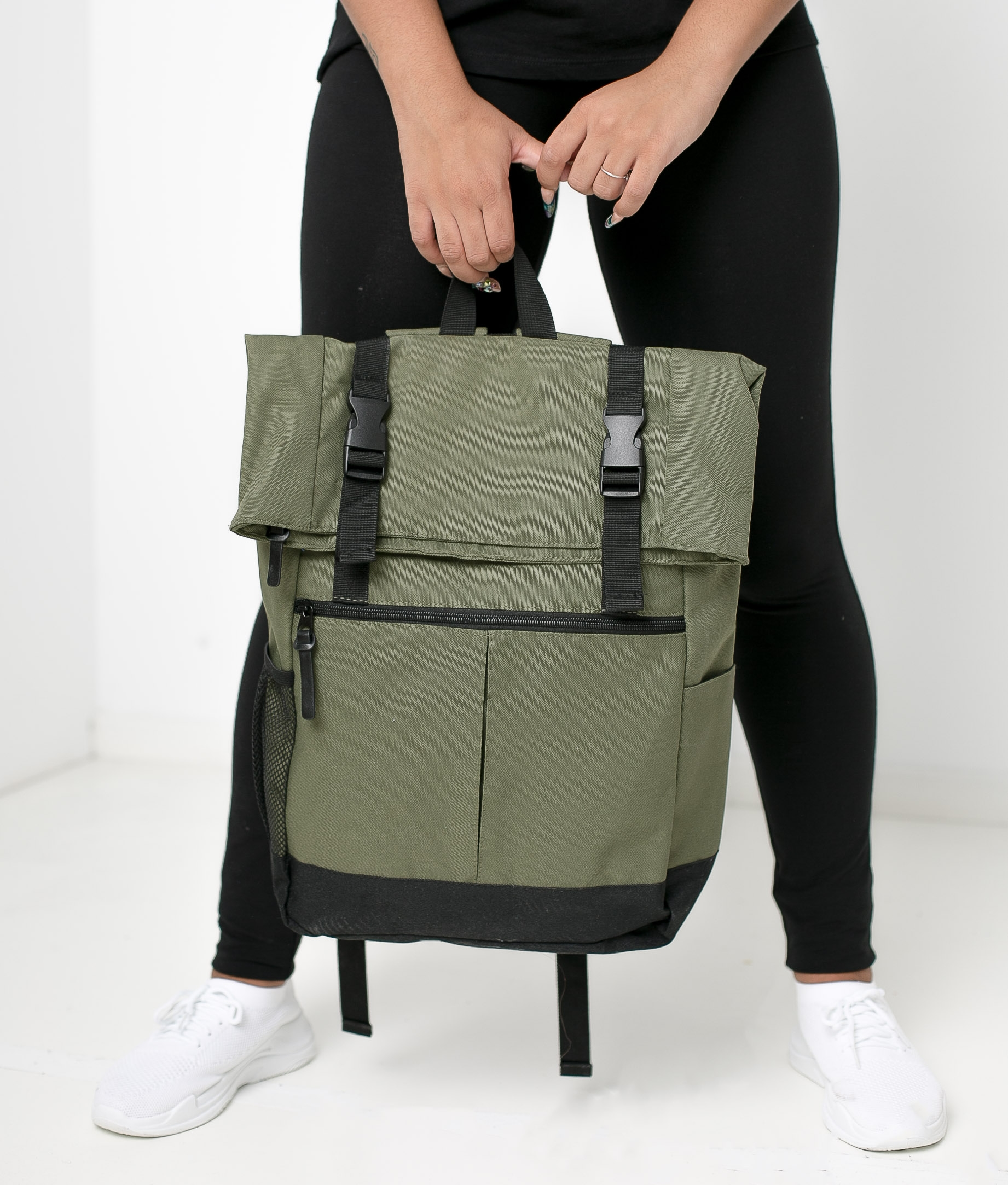 PRINKA BACKPACK - MILITARY GREEN