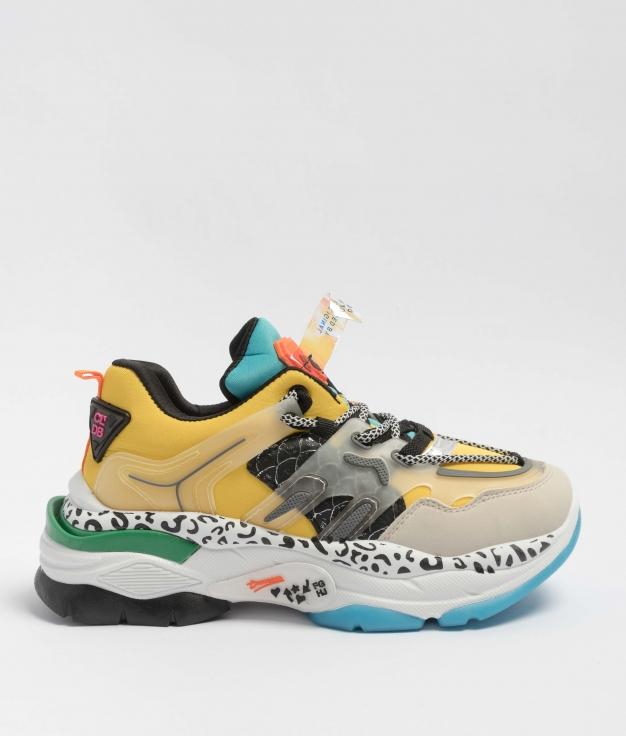 Sneakers Breta - Yellow