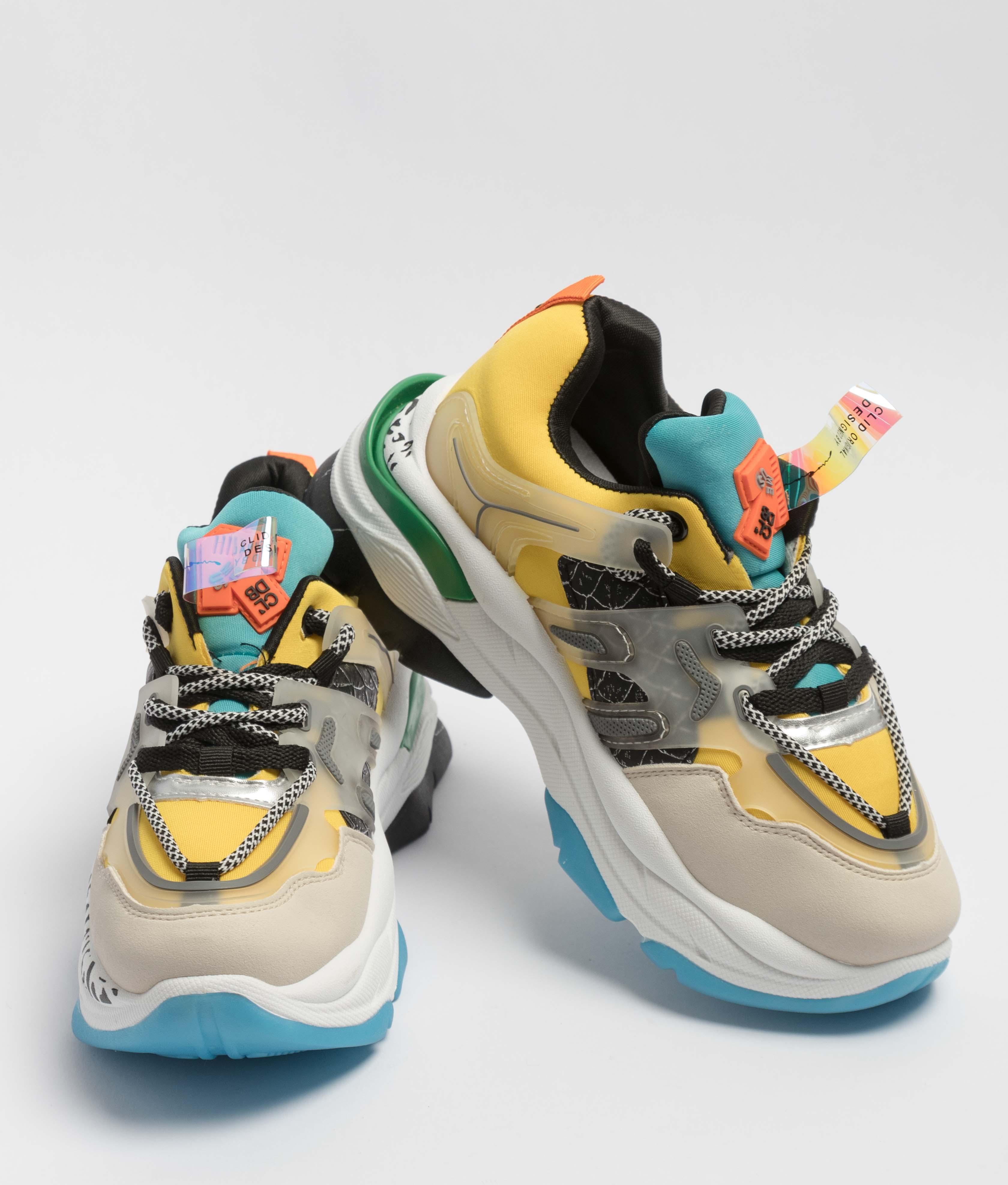 Sneakers Breta - Jaune