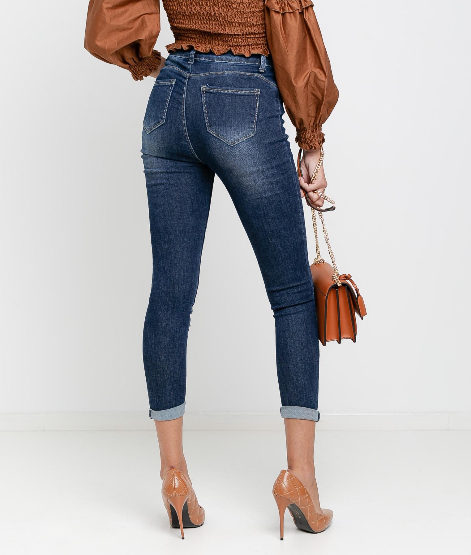 Pantalon Topic - Denim Foncé