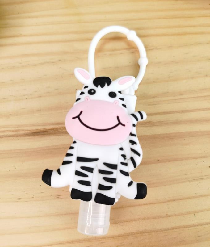 Porta desifectante de silicona Fila - zebra