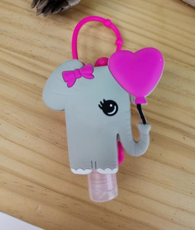 Porta desinfectante de silicona Fila - elefante