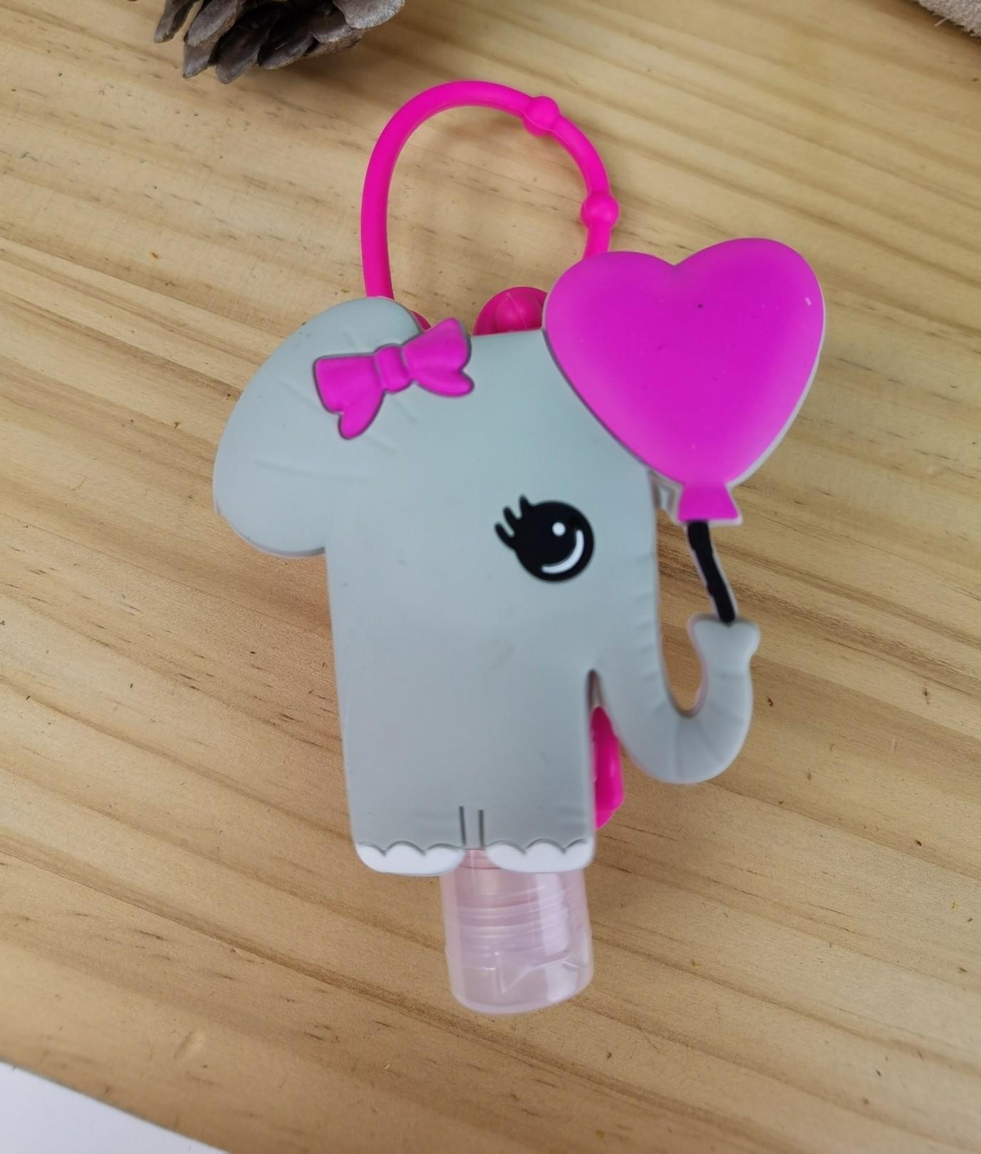 Porta desifectante de silicona Fila - elefante
