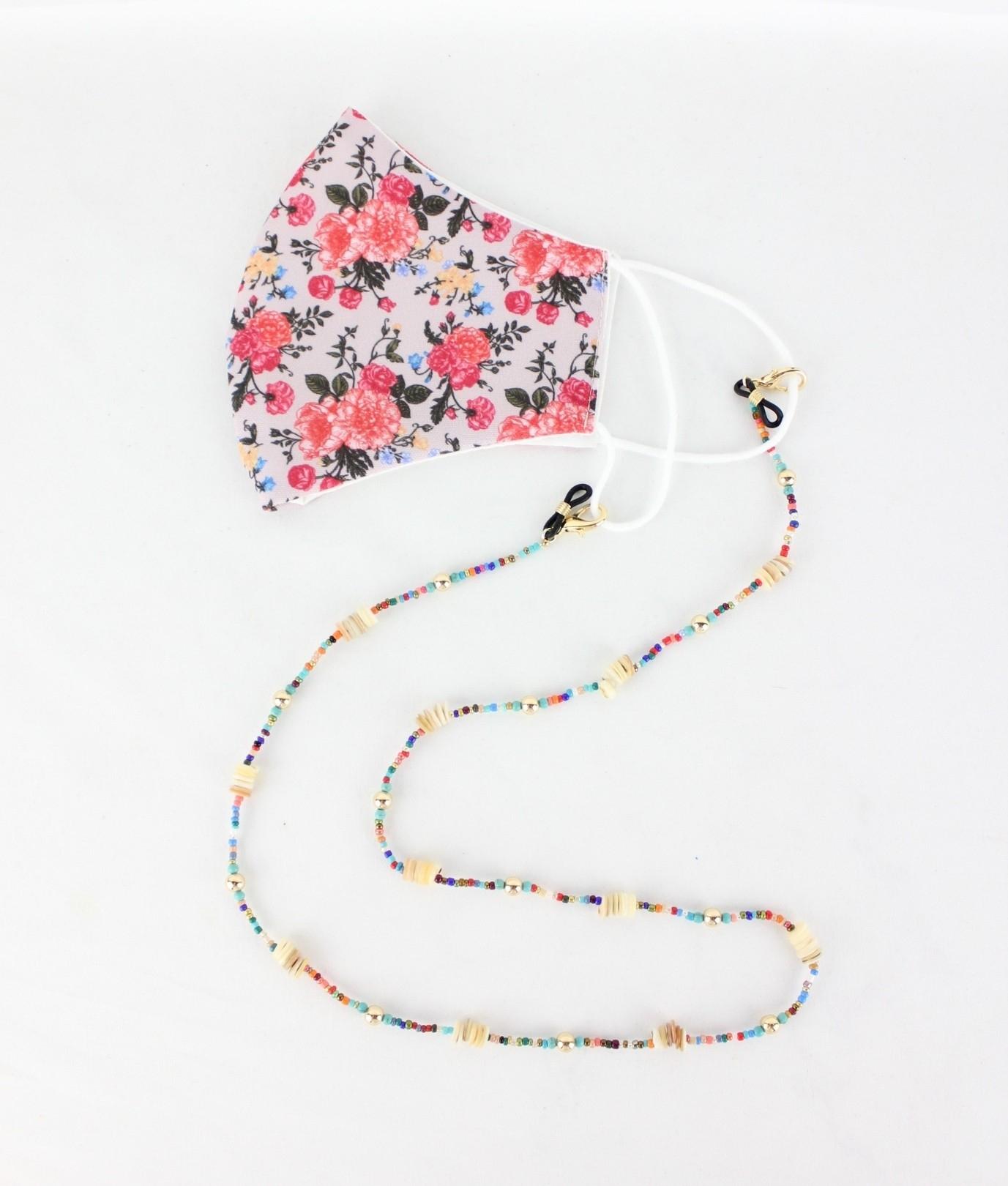 Mask Pendant Yoyo - Multicolour AJ