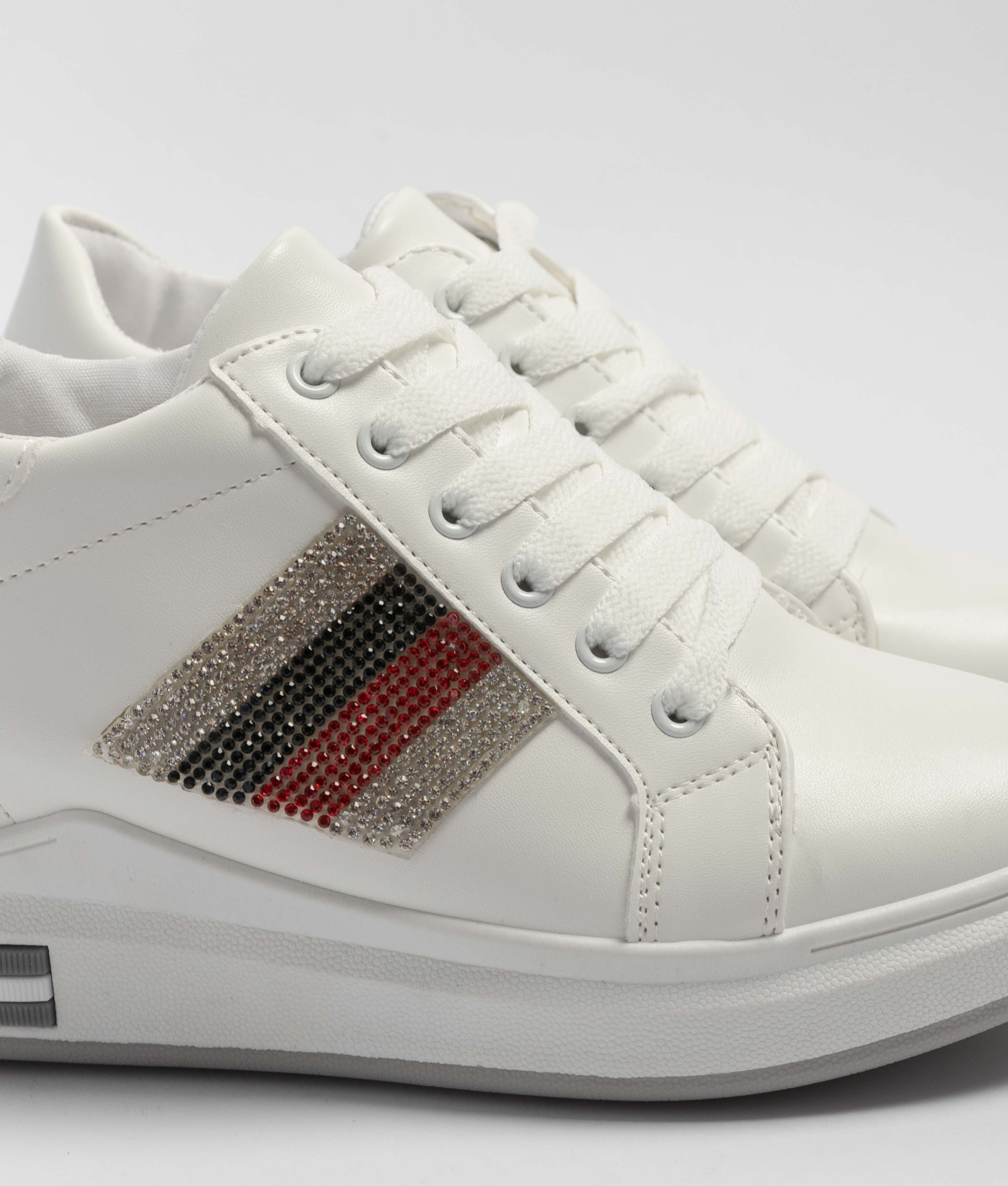 Sneakers Silky - White