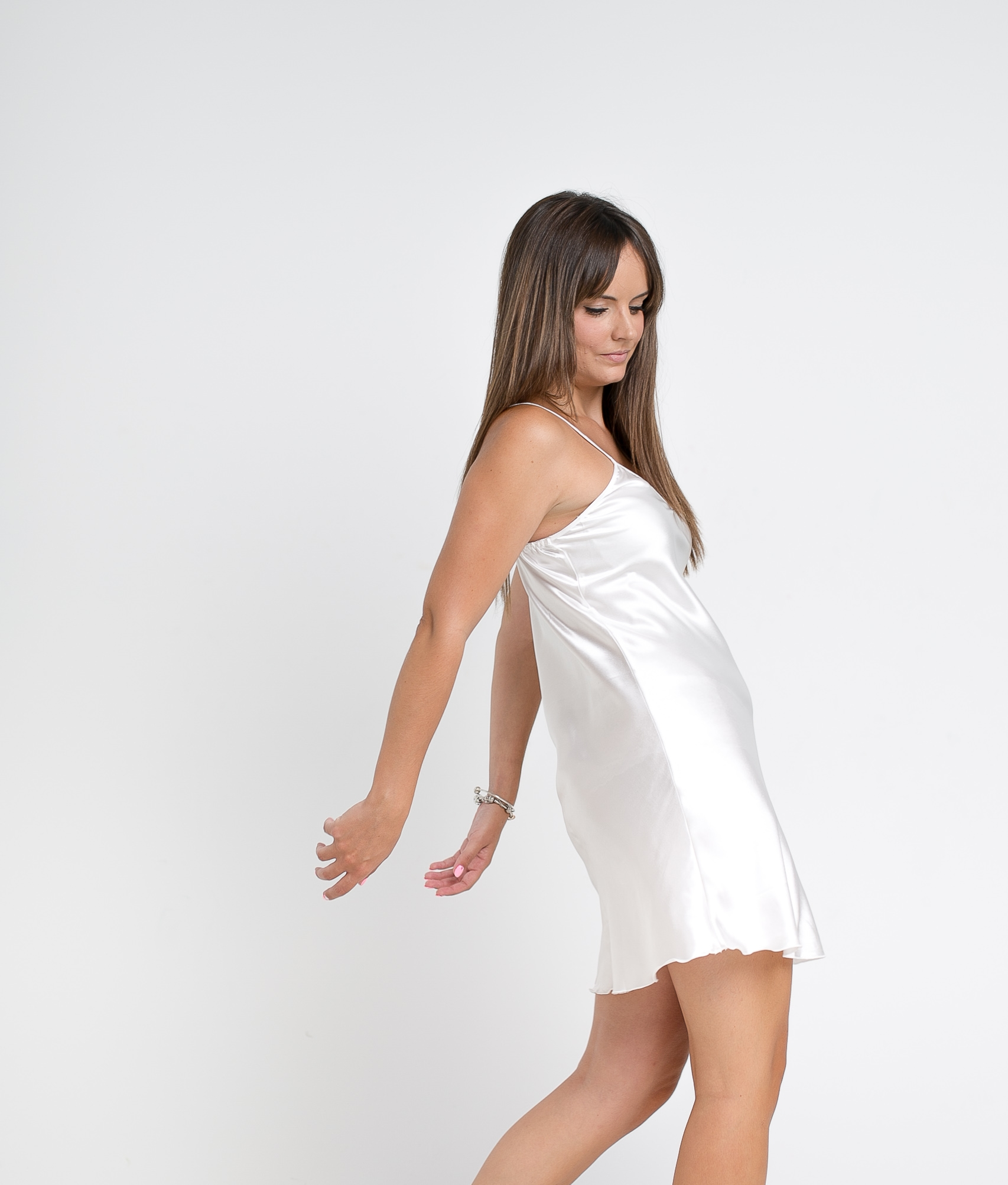NIGHTGOWN KIMBER - WHITE