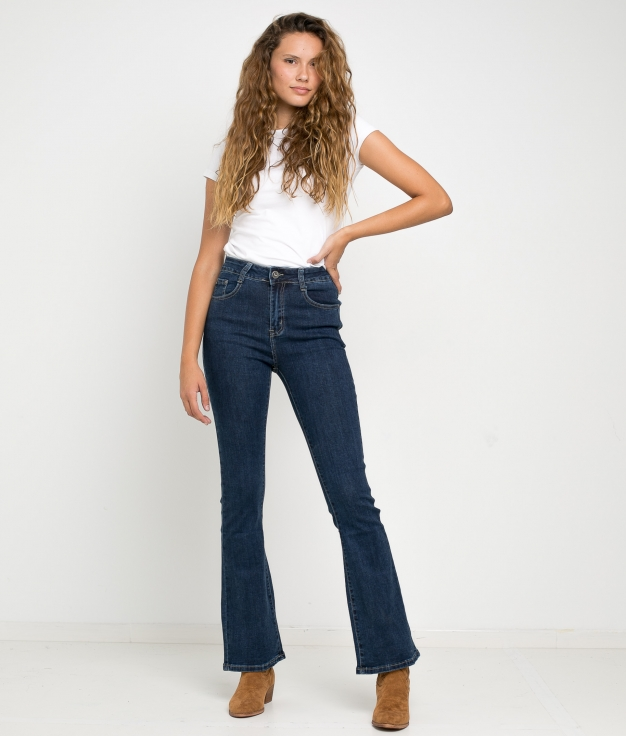 PANTALONI CAINE - DENIM SCURO
