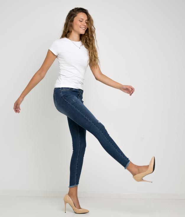 Pantaloni Copen - Denim Scuro