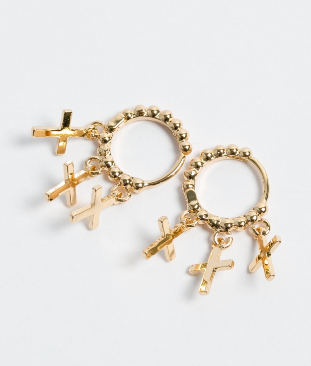 Earrings Marfu - Gold