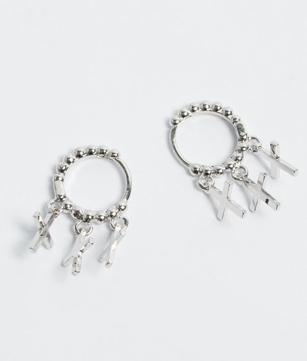 Earrings Marfu - Silver